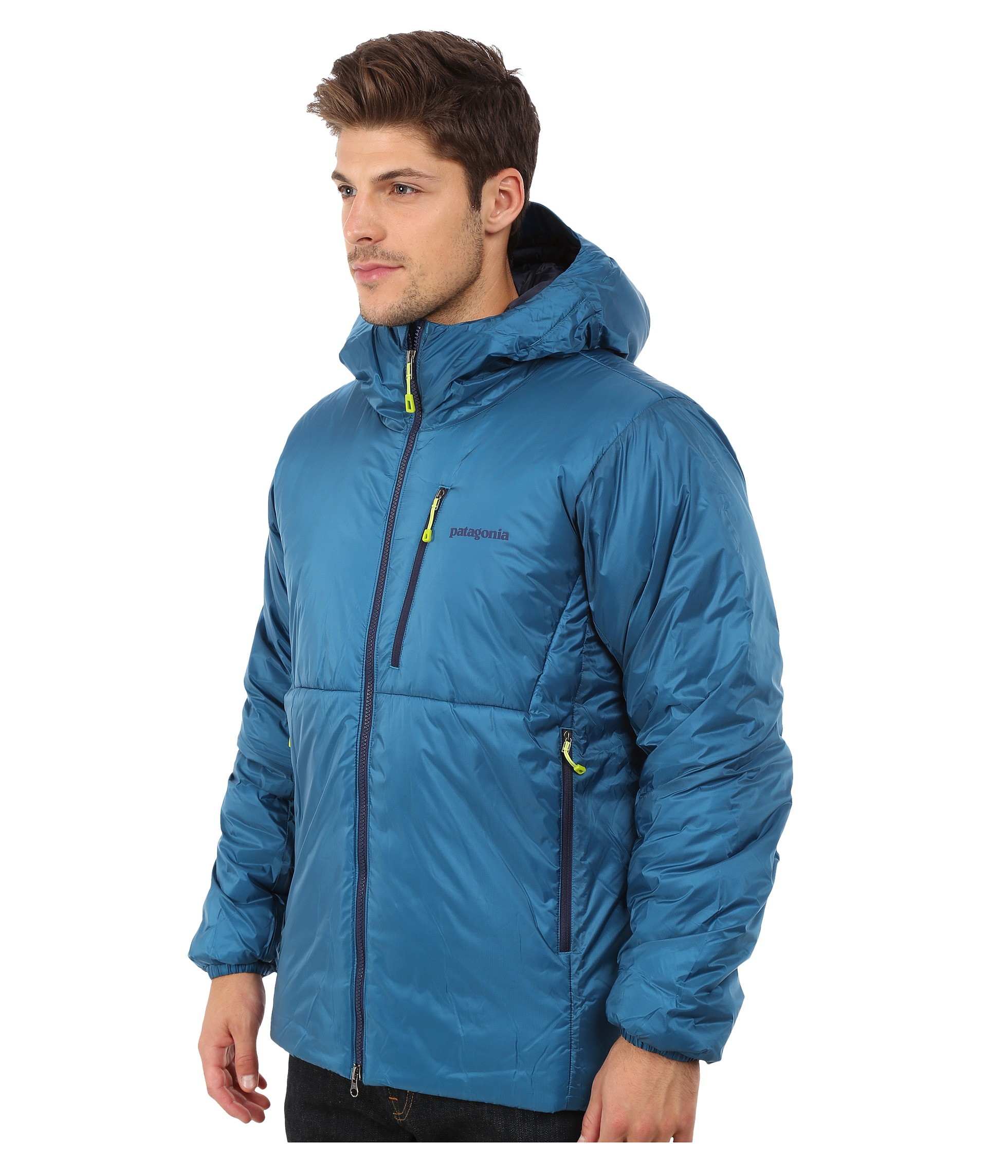 new arrival 35cc1 93b50 Patagonia Synthetic Das Parka in Blue for Men - Lyst