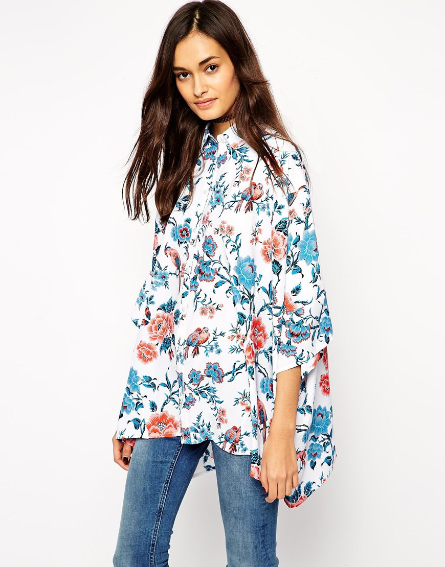 Блузка кимоно