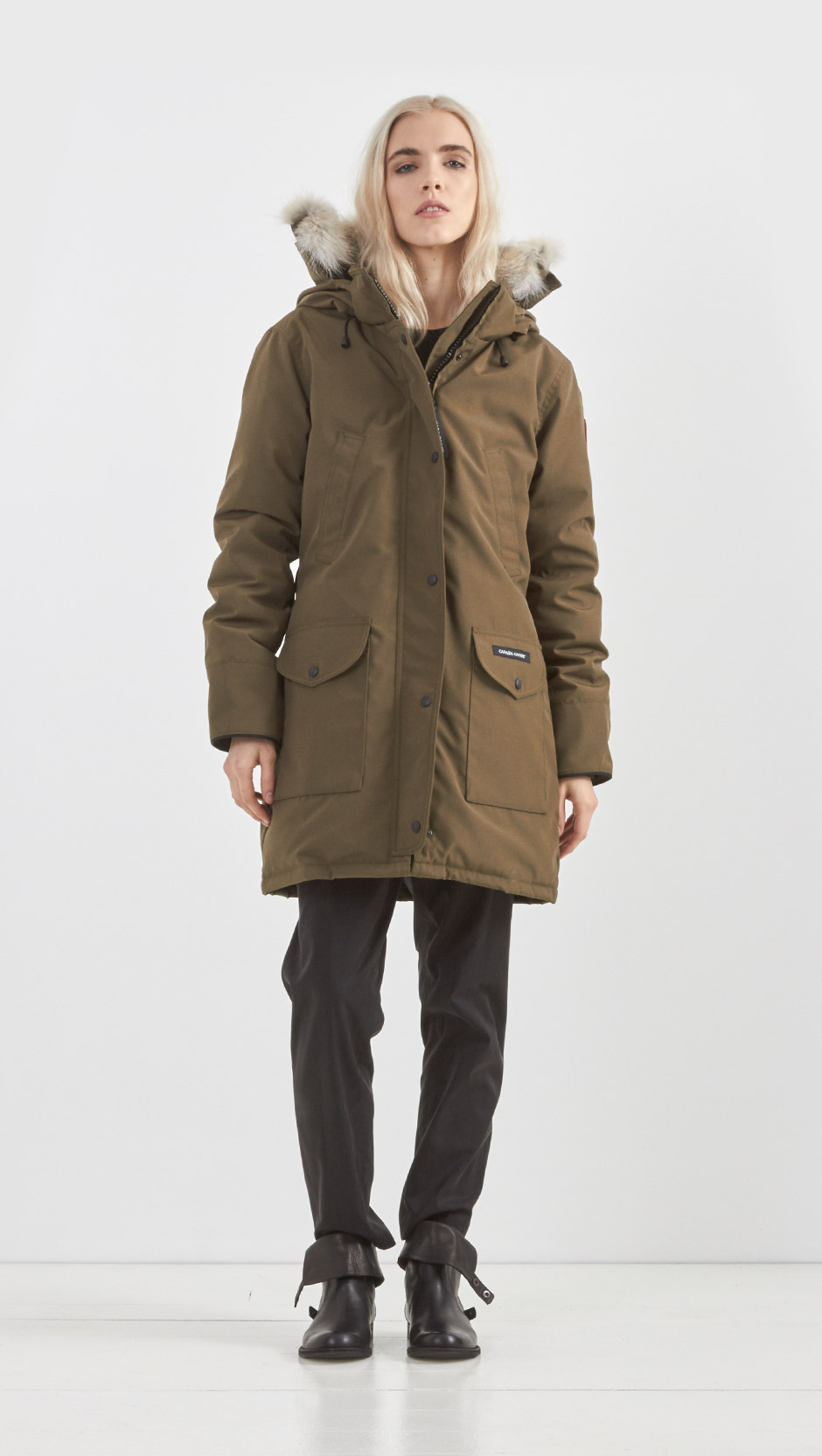 Aninimal Book: Canada Goose Trillium Parka in Green - Lyst