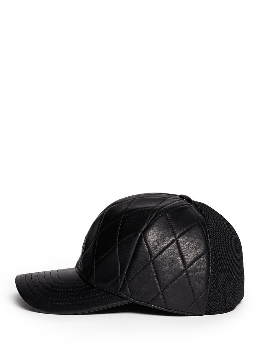 Leather-peak cap Neil Barrett tzfpQk