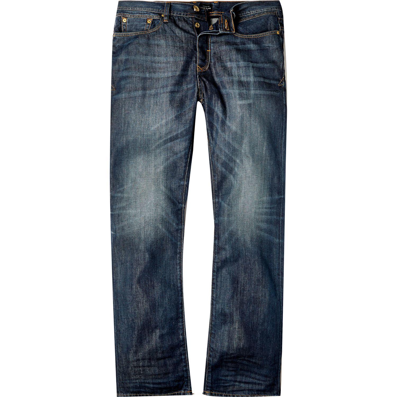 River Island Acid Wash Jeans