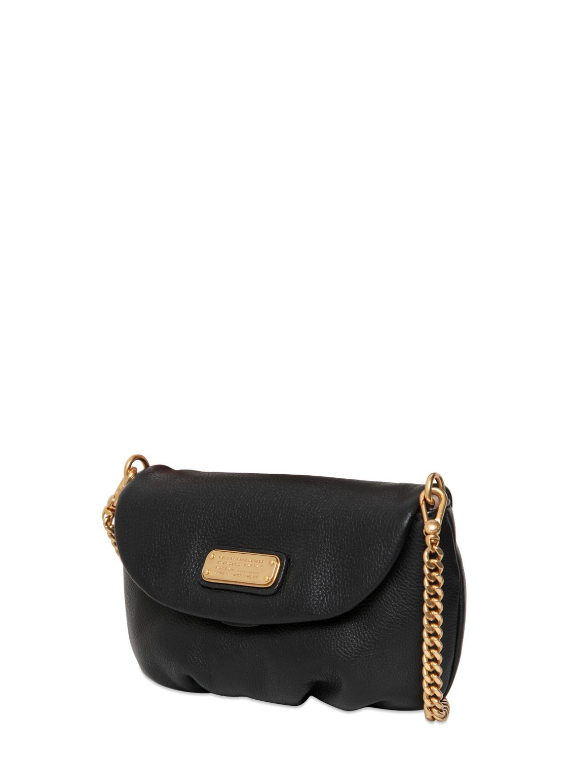 Marc By Marc Jacobs Washed Up Zip Crossbody Bag in Black