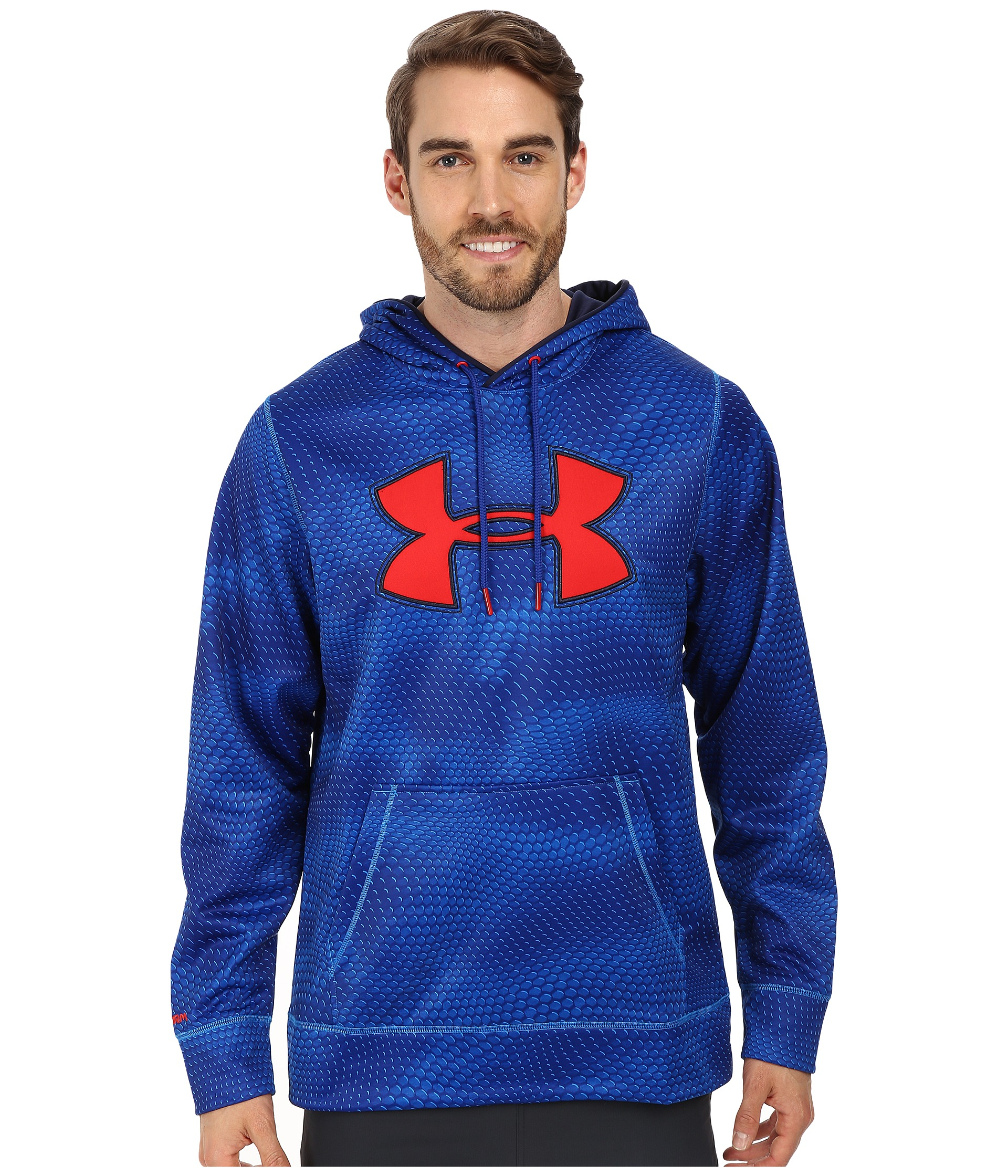 Zack Storm Coloring Pages: Under Armour Armour Fleece Storm Big Logo Rattle Hoodie In
