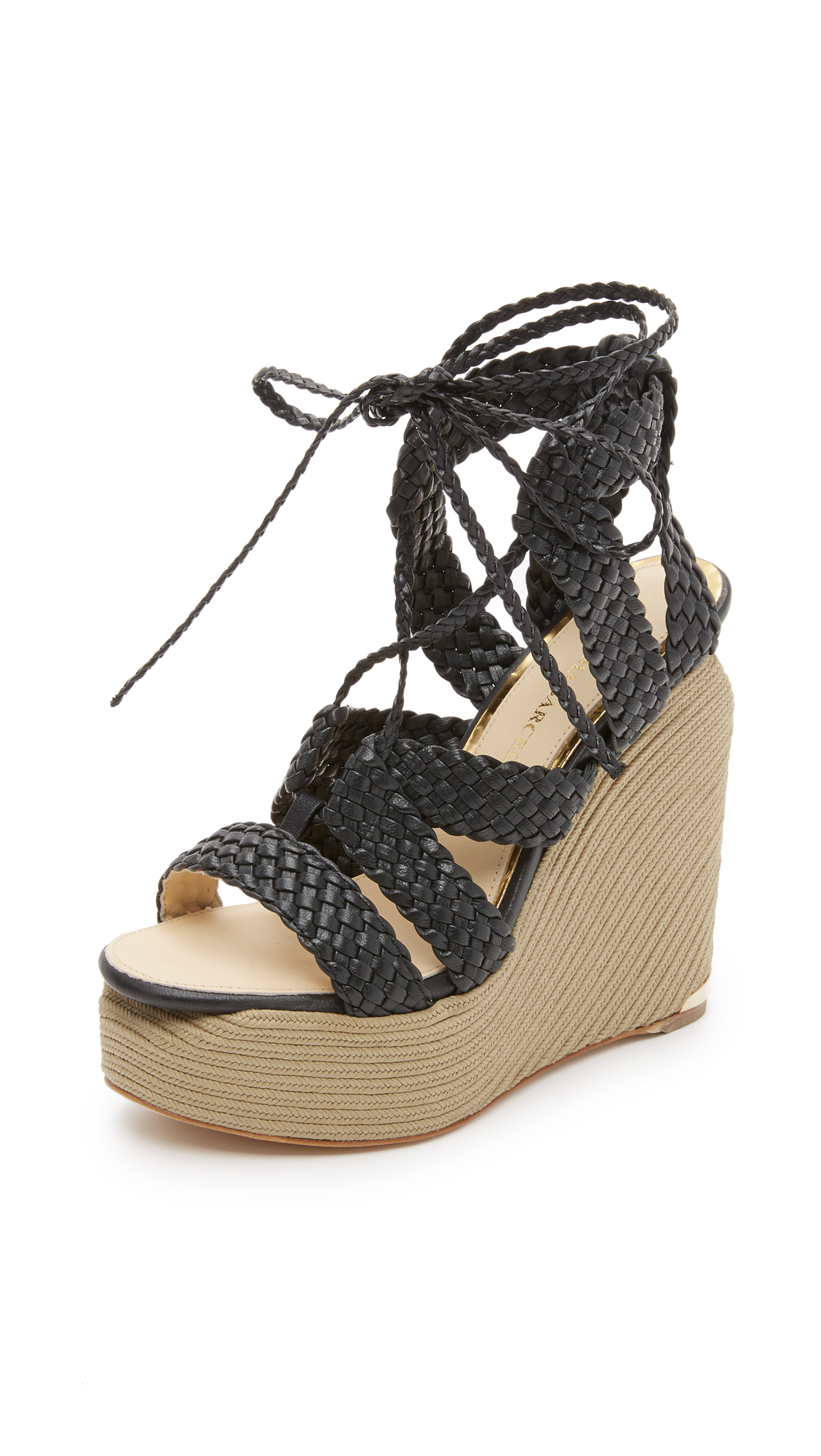 Shopbop has the looks you crave. Shop our expertly curated collection of luxe black lace wedges, and find the look you've been dreaming of. We have a serious obsession with these black lace wedges, and we bet you do too.