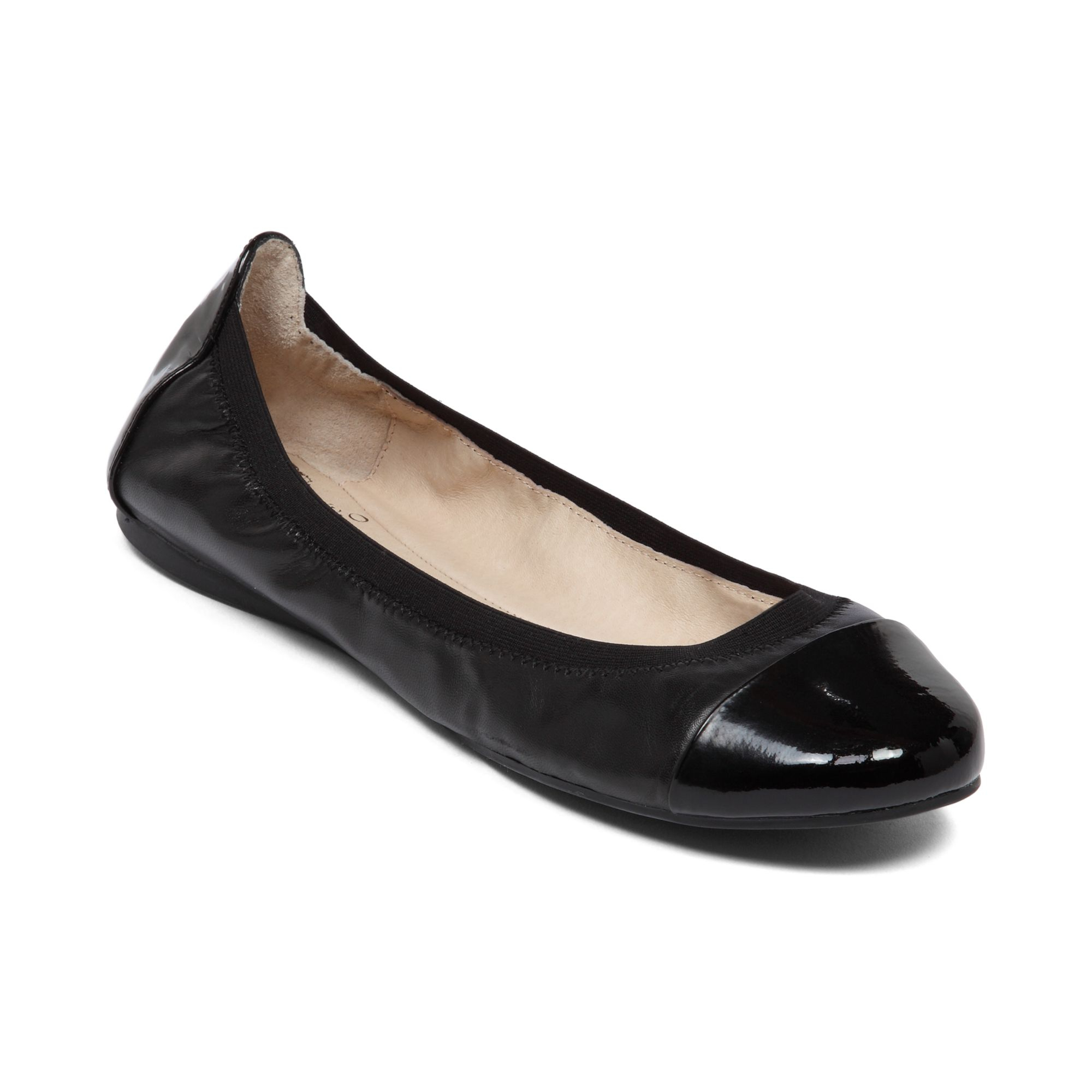 Blck Flat Shoes