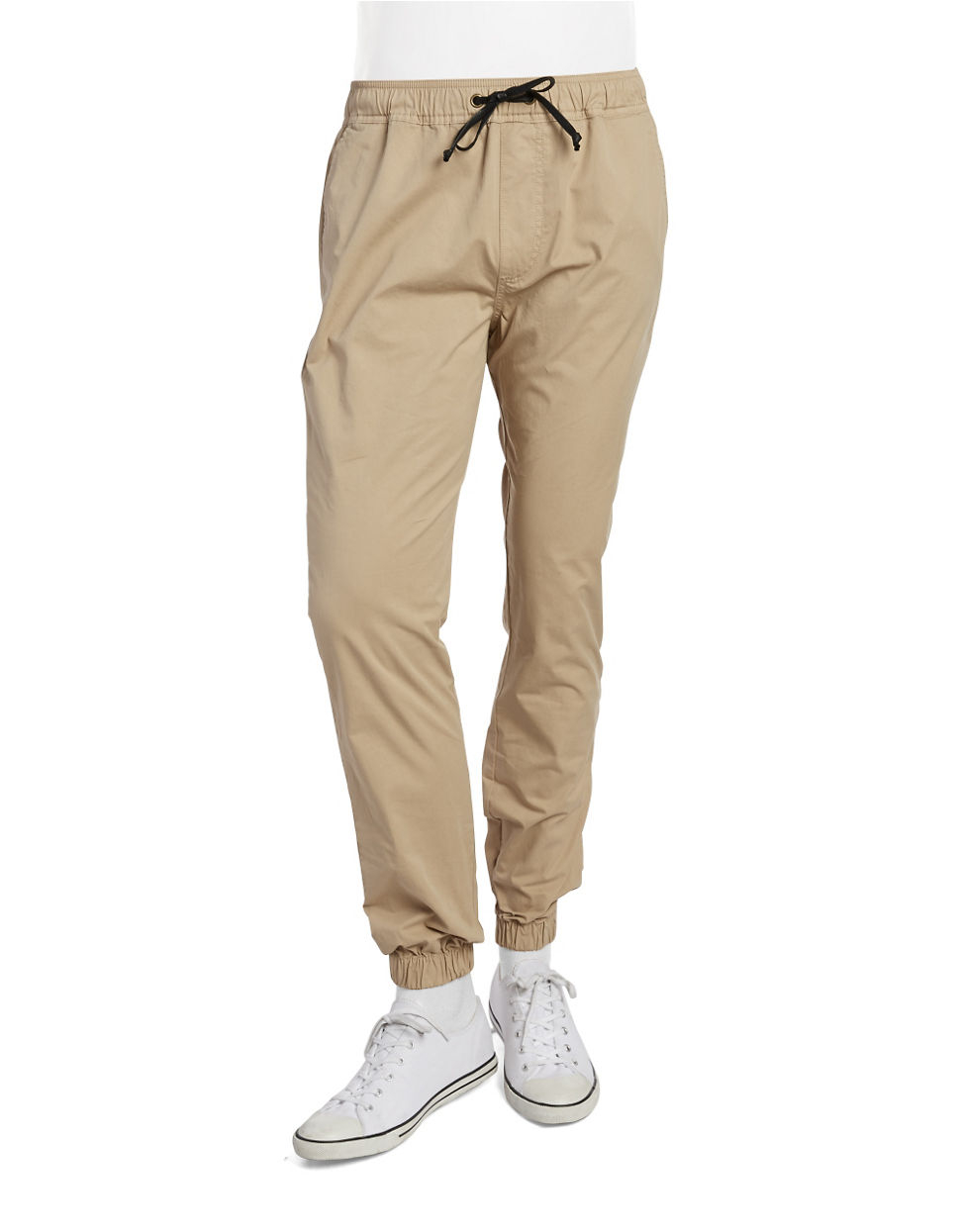 Mens Drawstring Khaki Pants 51