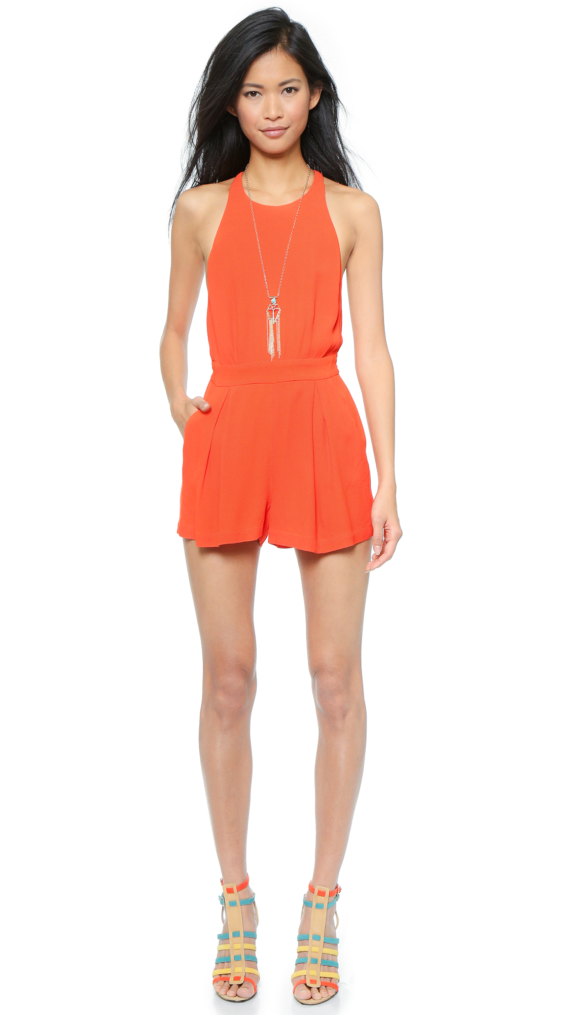 096f411574 Gallery. Previously sold at  Shopbop · Women s Mesh Jumpsuits ...