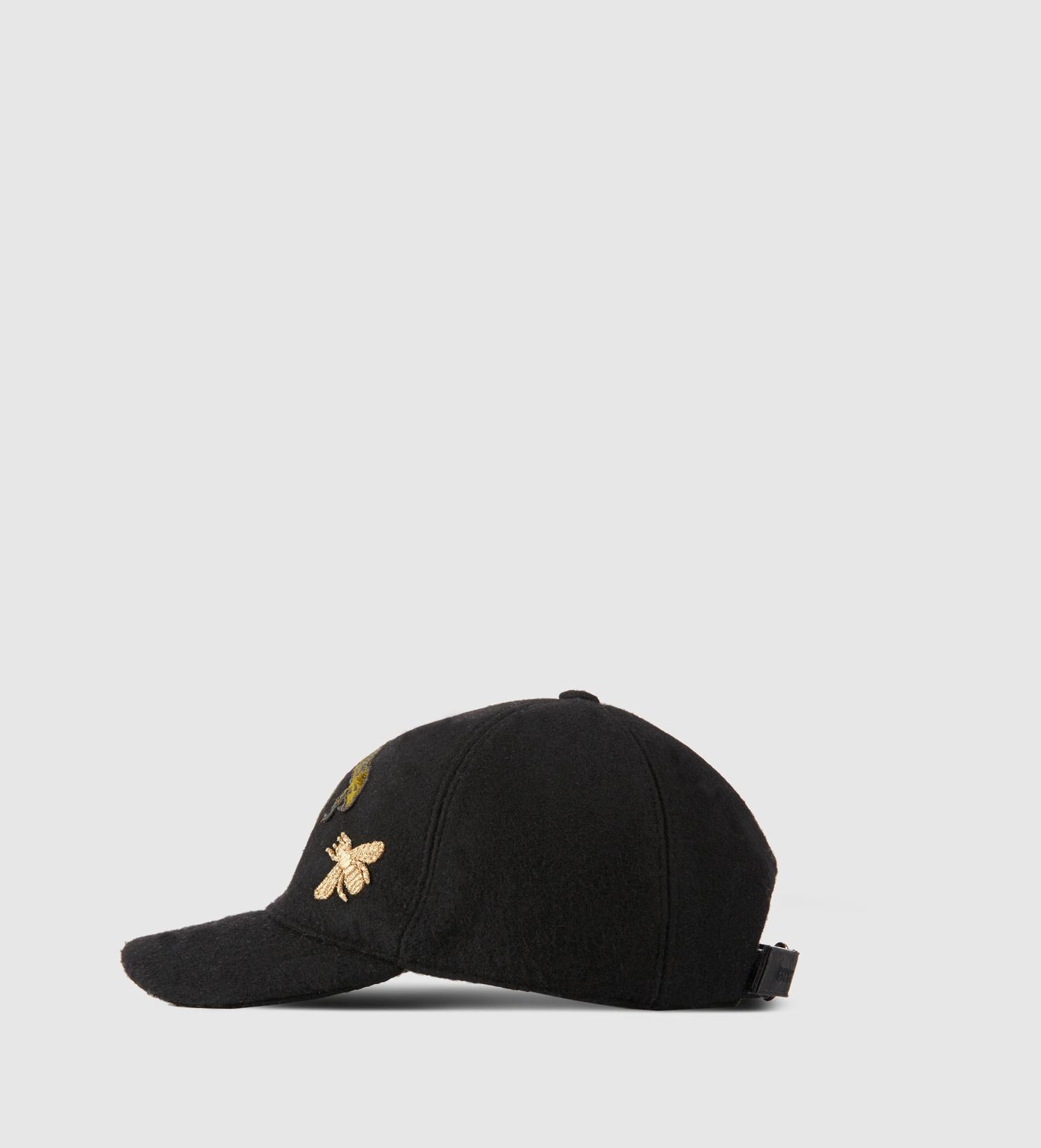 f1e627f7514 Gucci La Hat New Era - Parchment N Lead