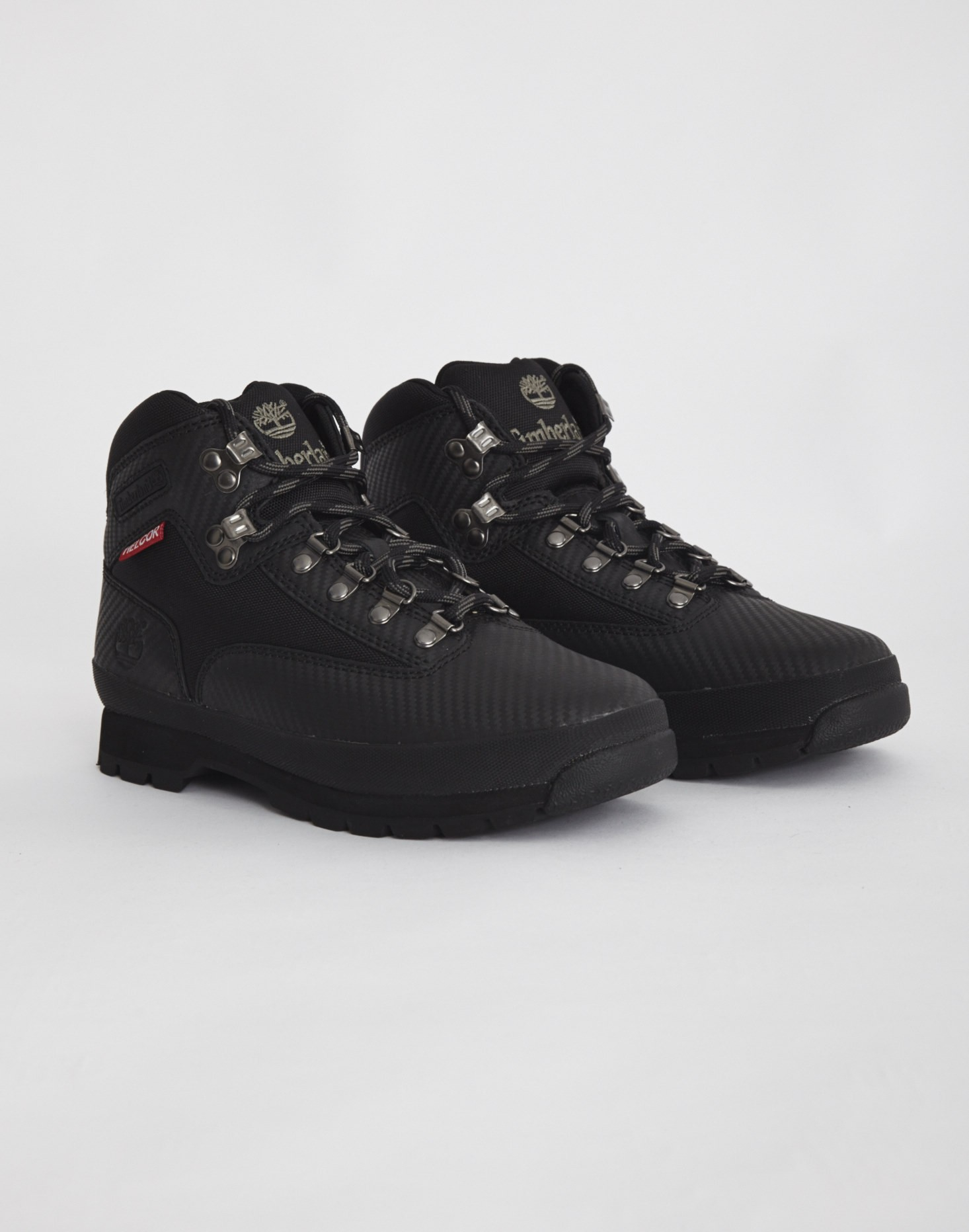 4660c65e6d2 Timberland Euro Hiker Mid Fabric And Leather Boot Black in Black for ...