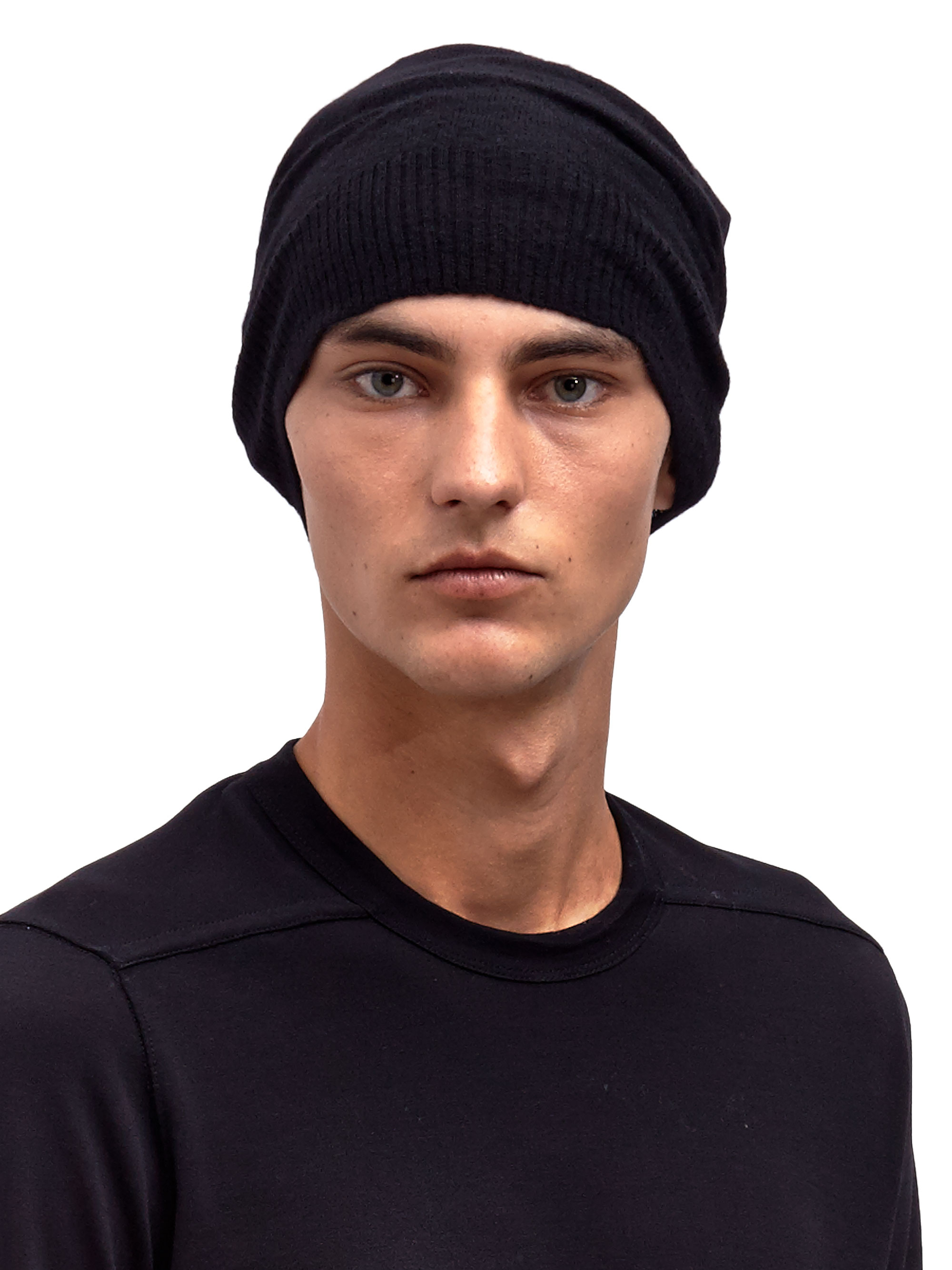 927bba70a69 Lyst Rick Owens Mens Cashmere Beanie In Black For Men