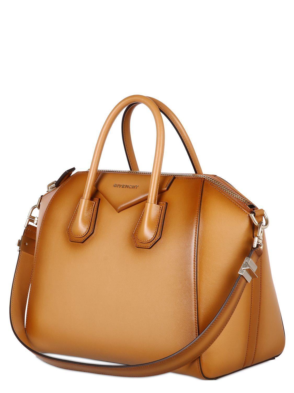 Givenchy Leather Camel Handbag SybEJvCI