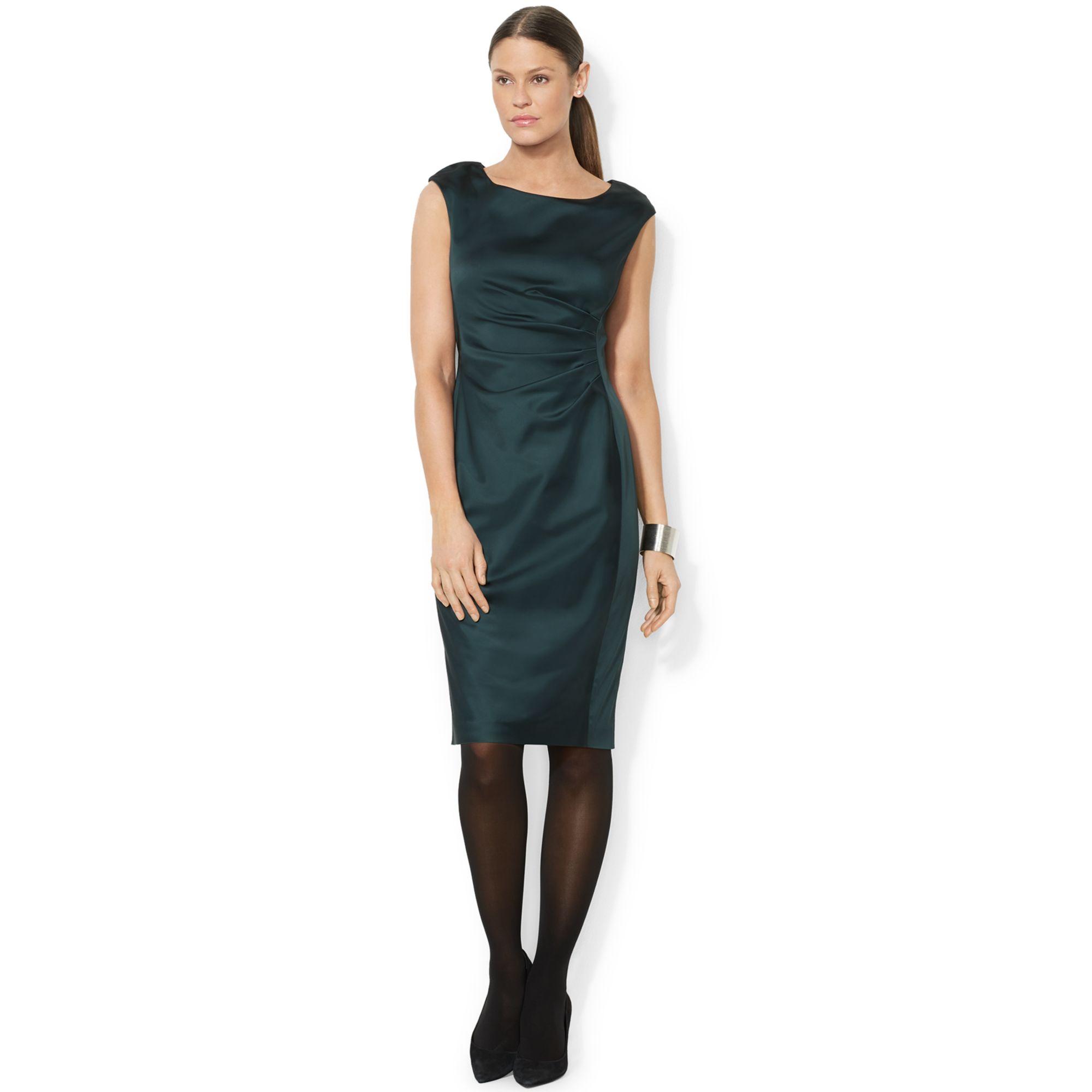 Satin Sheath Dresses