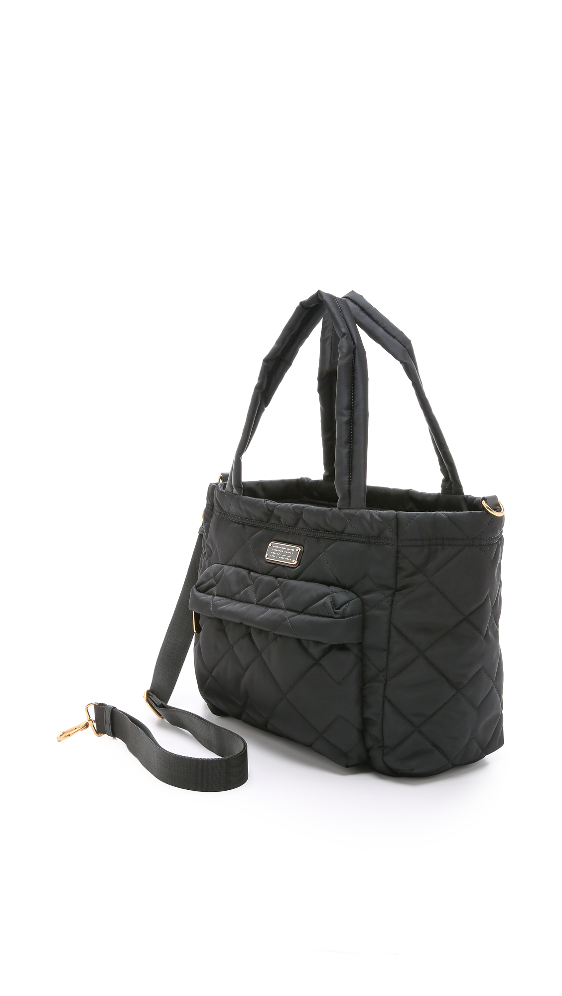 Marc By Marc Jacobs Crosby Quilt Eliz A Baby Bag Black