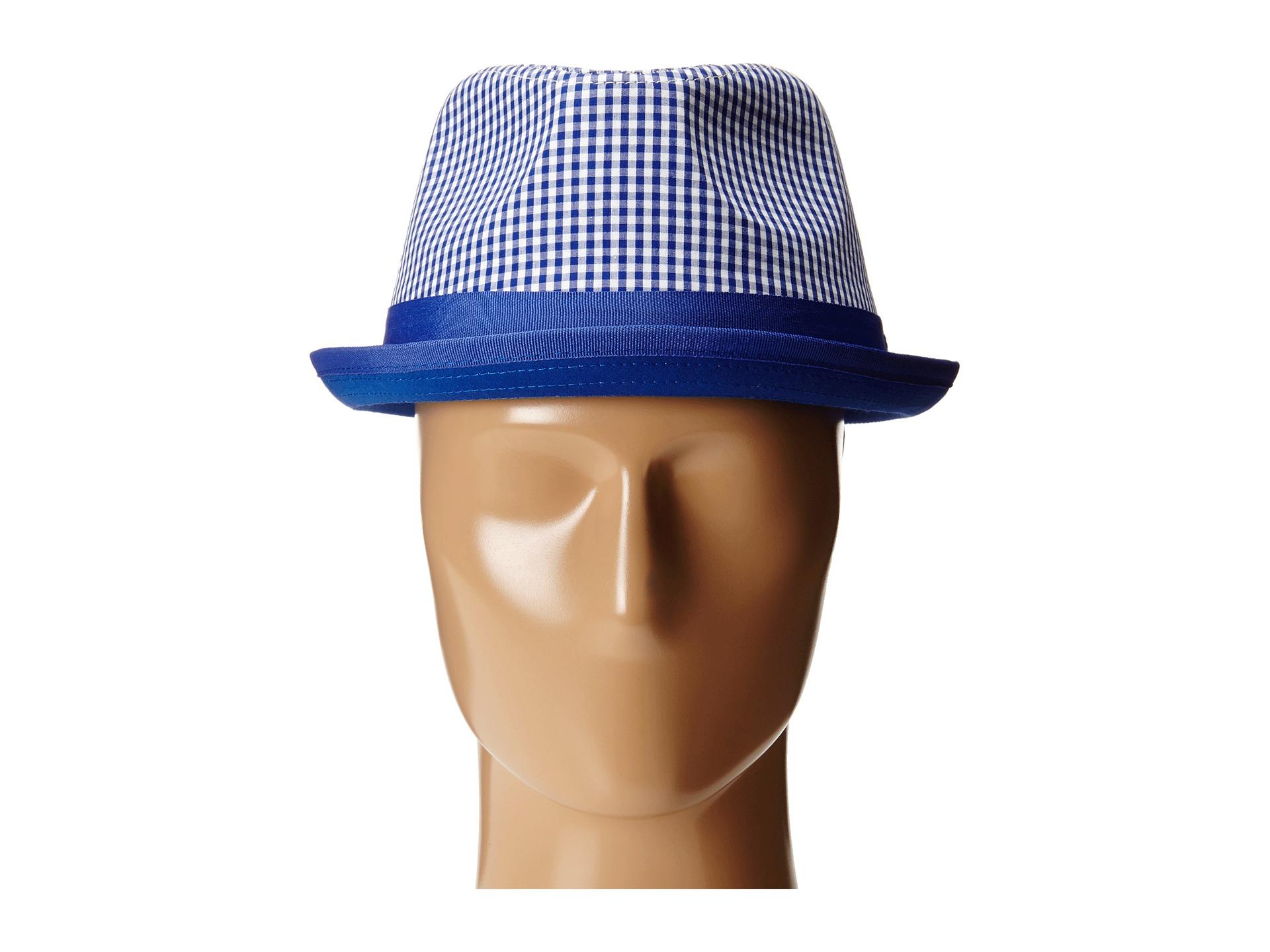 3e68c66d4c3 Lyst - Original Penguin Miramar Gingham Fedora in Blue for Men