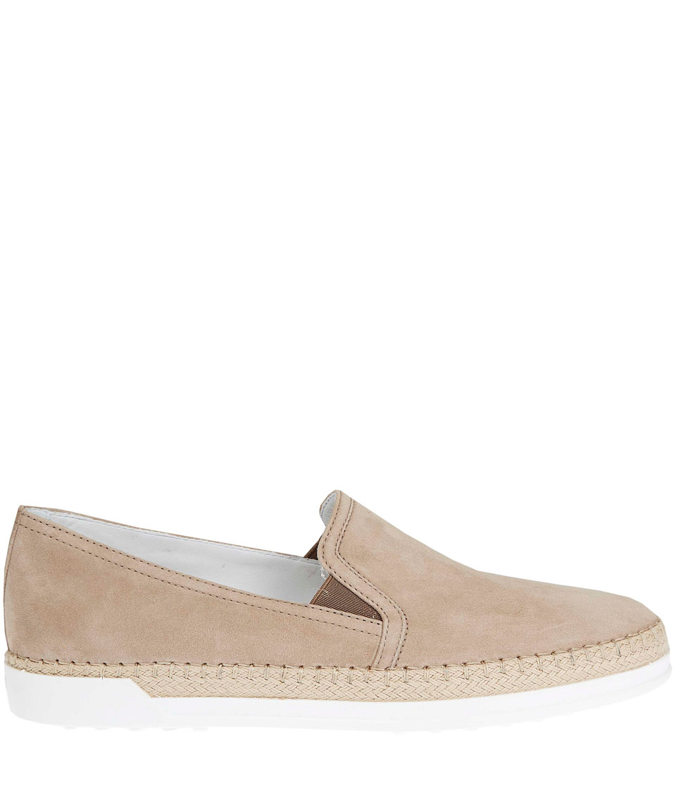 Taupe slip on Tod's Yv6t2F7rh