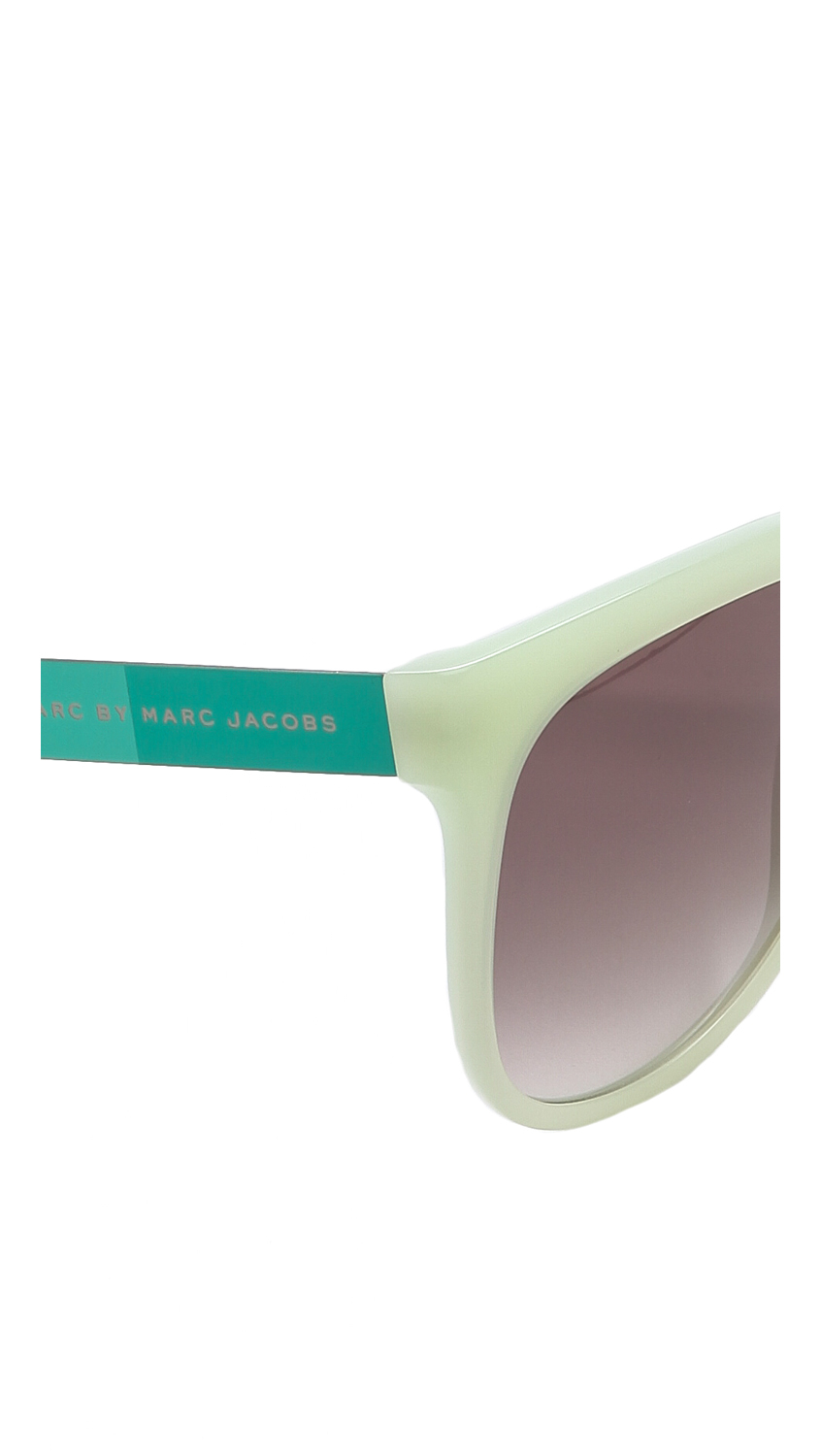 Marc By Marc Jacobs Mirrored Sunglasses Opal Greengrey Silver Mirror