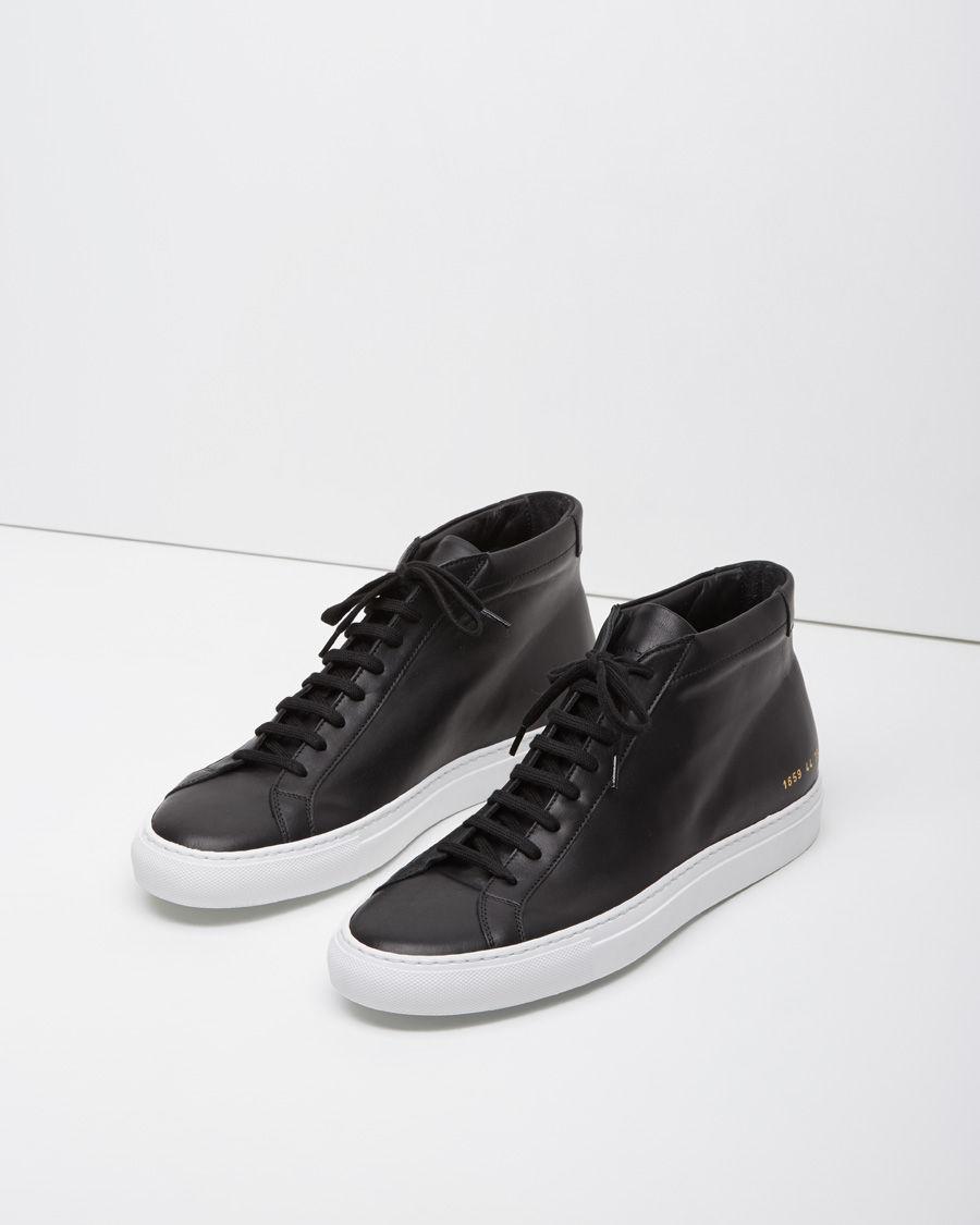 Black Original Achilles Mid Sneakers Common Projects JVIeTDVl9V