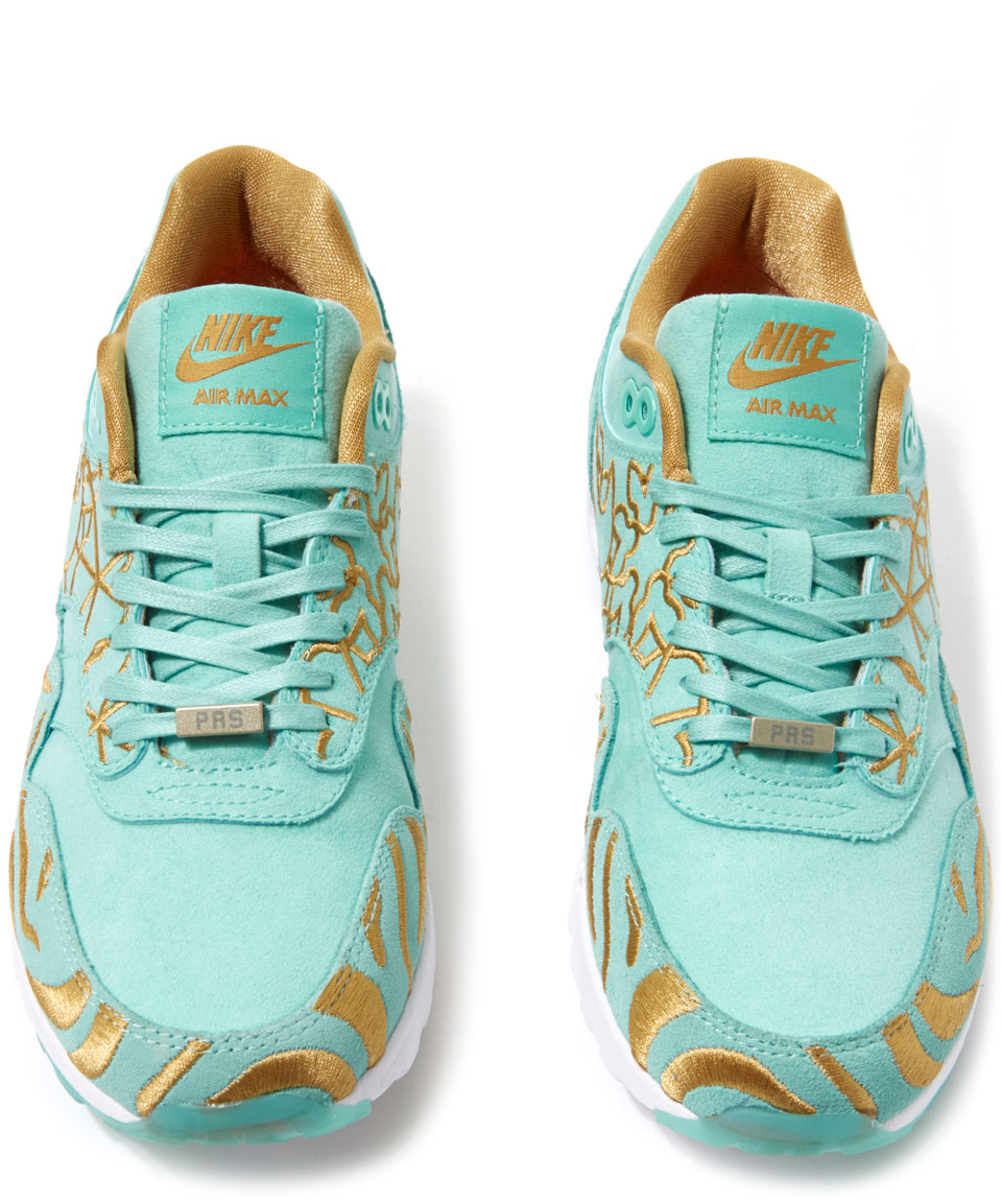 Nike Metallic Air Max 1 Look Of The City Paris Trainers
