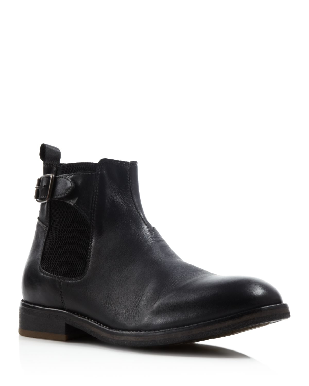 h by hudson parson chelsea boots in black lyst. Black Bedroom Furniture Sets. Home Design Ideas