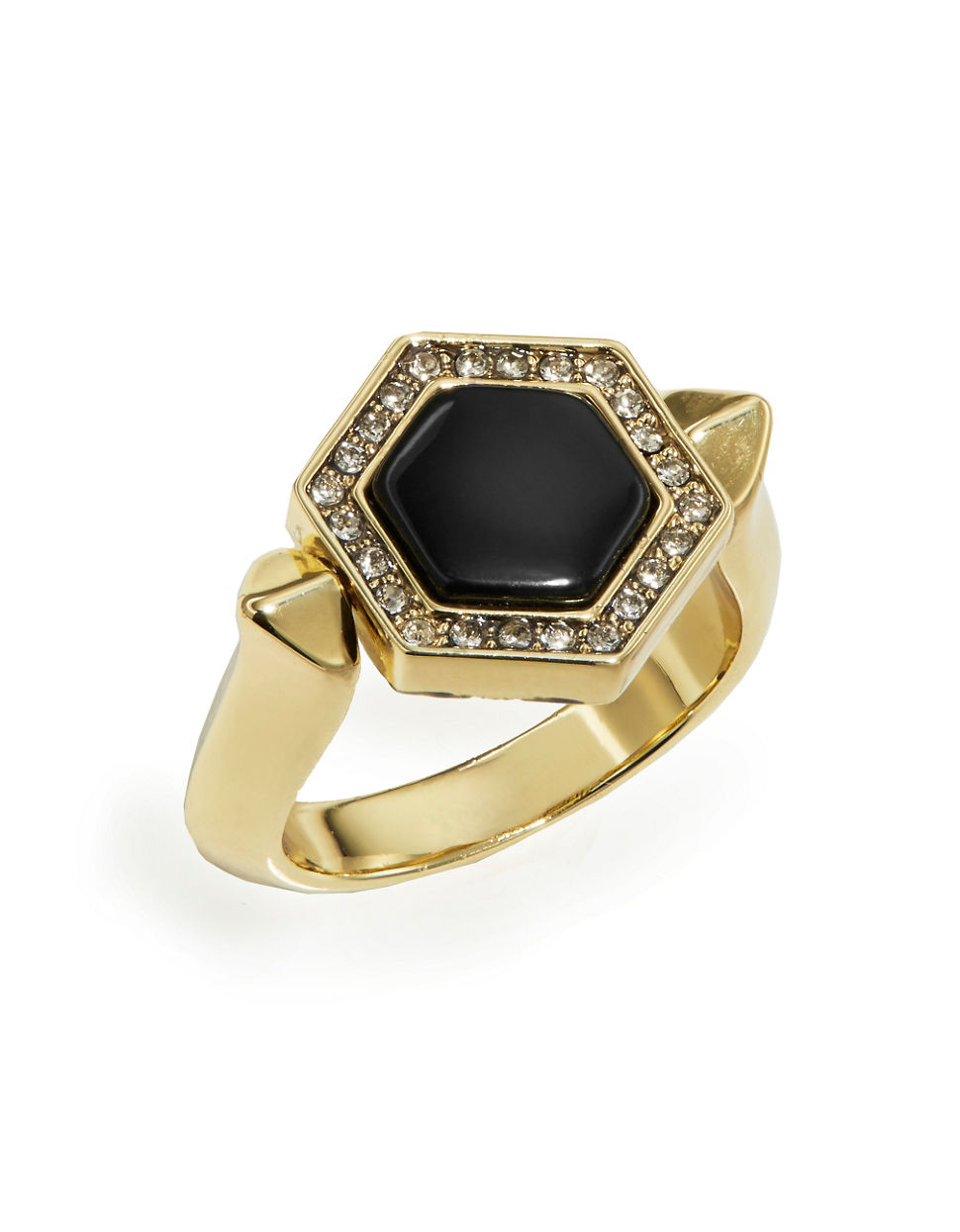 house of harlow 1960 hexes flip ring in black lyst