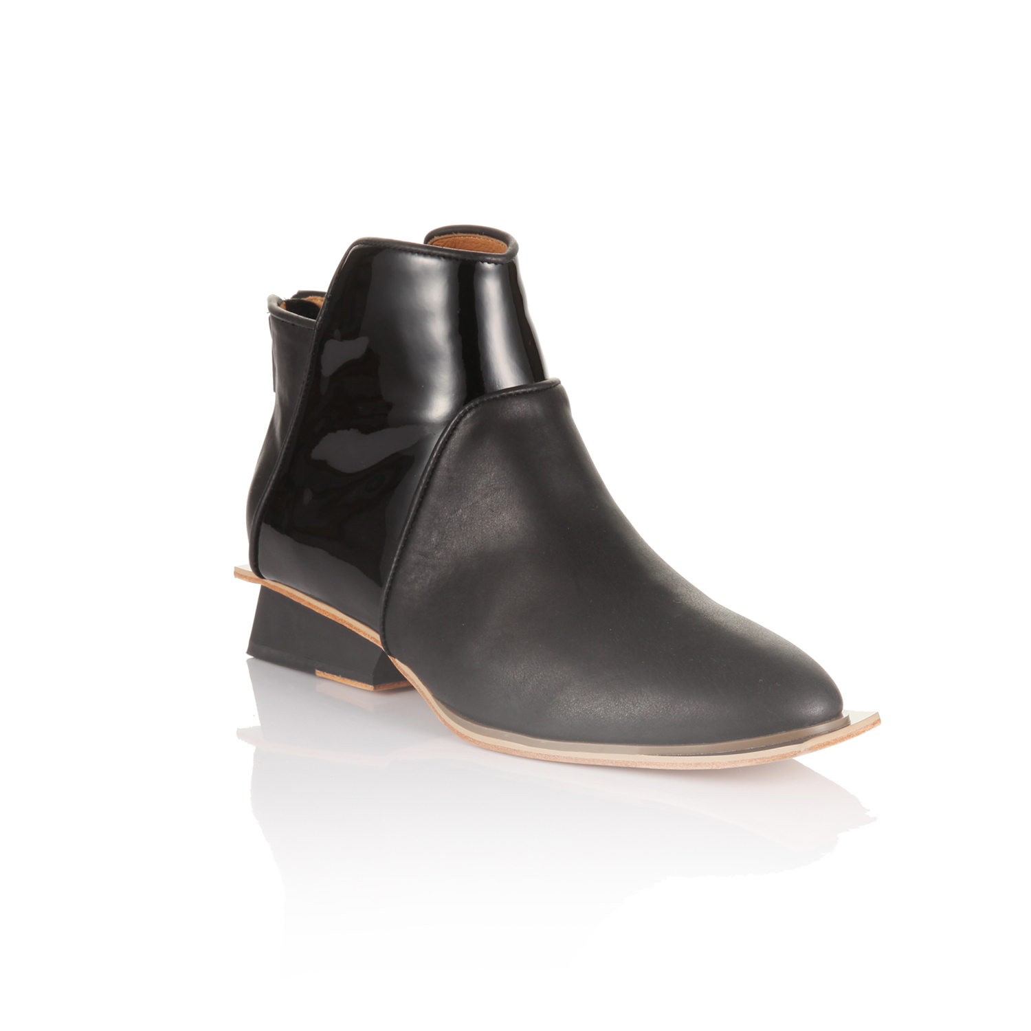 Abcense Chasse Boot in Black