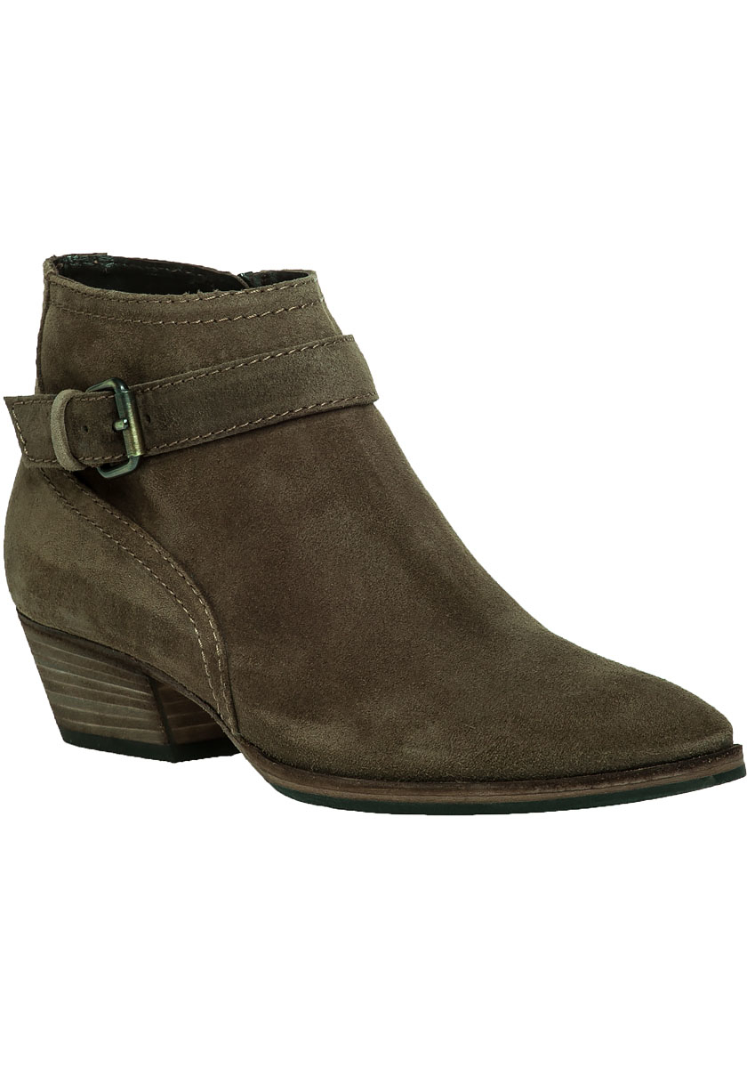 Aquatalia Fanny Suede Ankle Boot In Natural Lyst