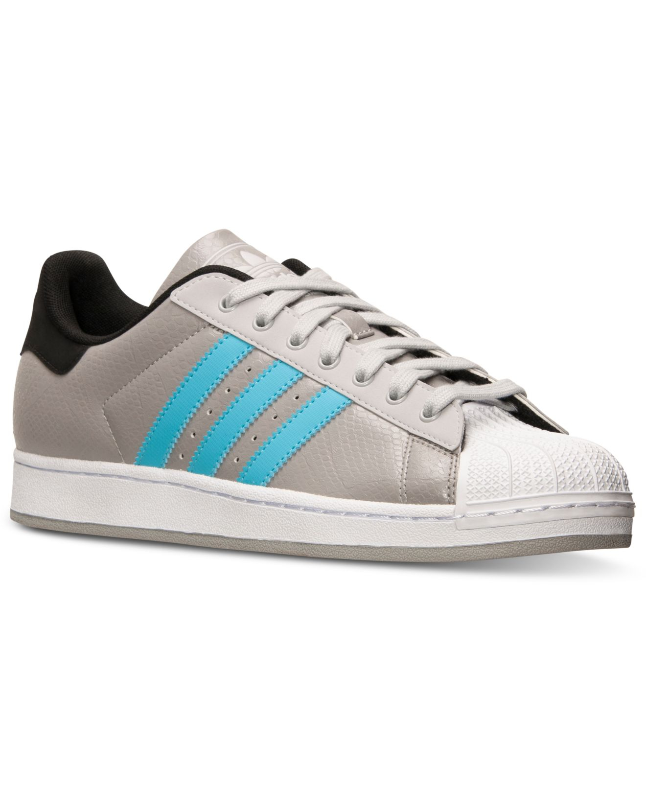 lyst adidas men 39 s superstar 2 casual sneakers from finish line in blue for men. Black Bedroom Furniture Sets. Home Design Ideas