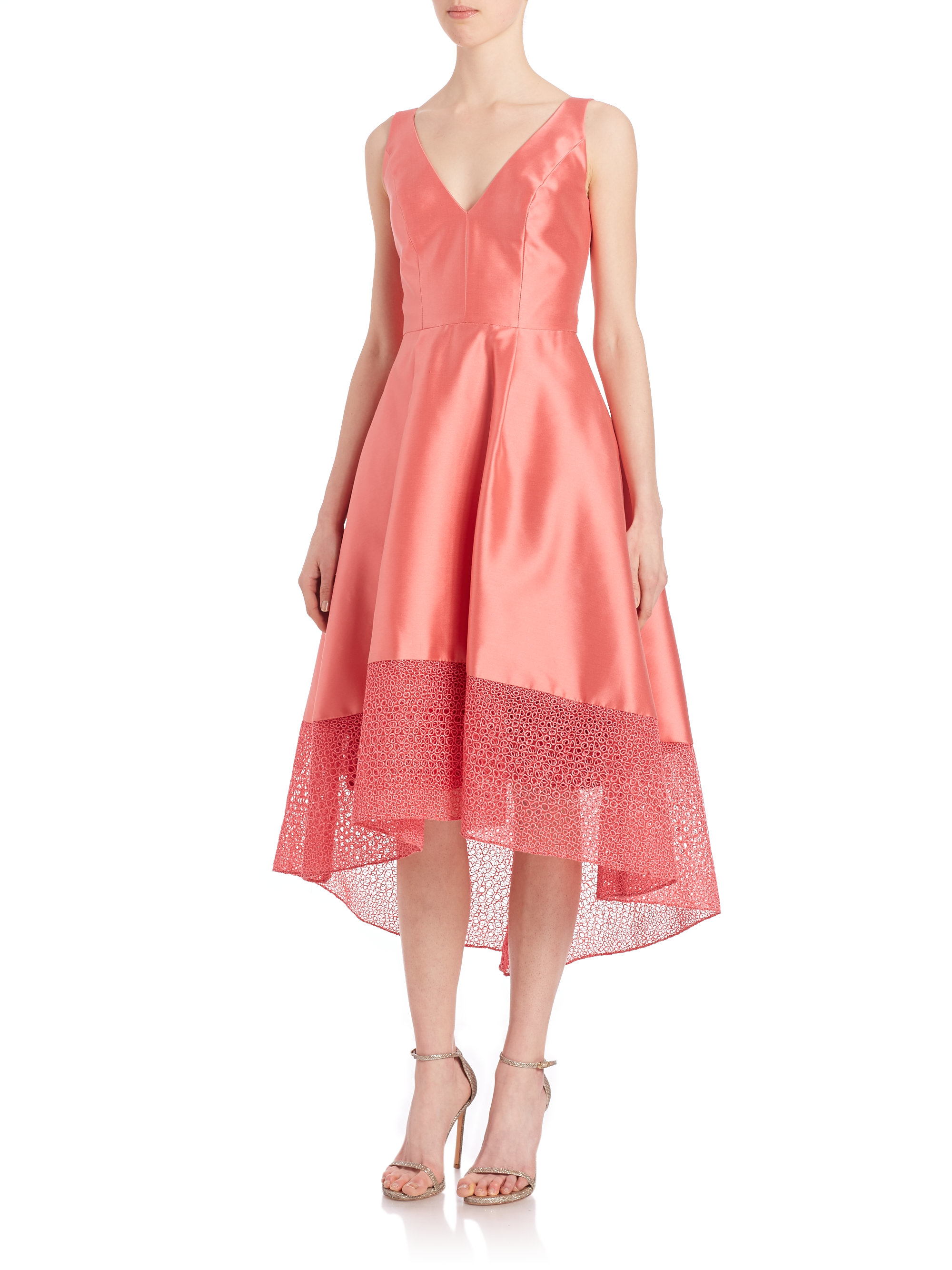 Dorable Monique Lhuillier Cocktail Dress Ideas Ornamento Elaboración ...