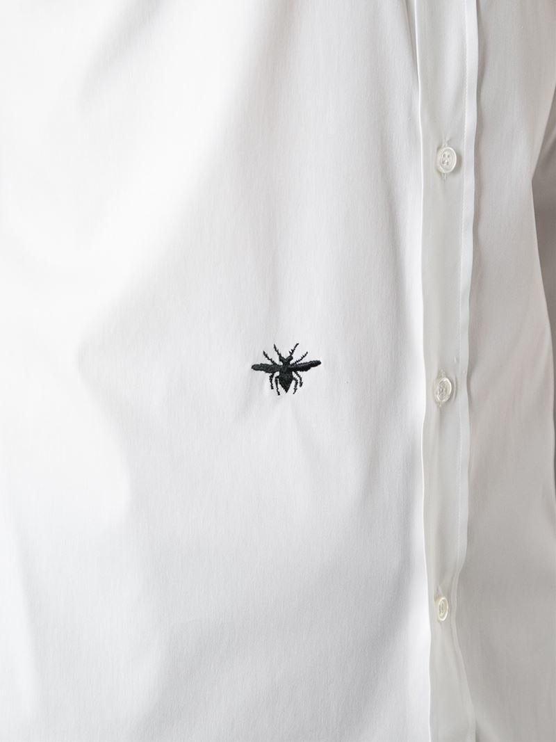 White Cotton Shirt For Men