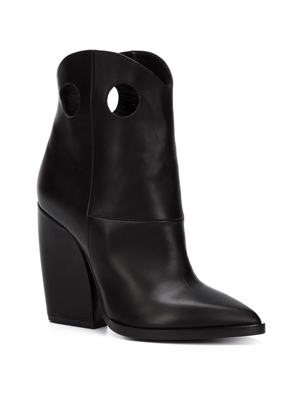 Pierre Hardy Leather Western Boots