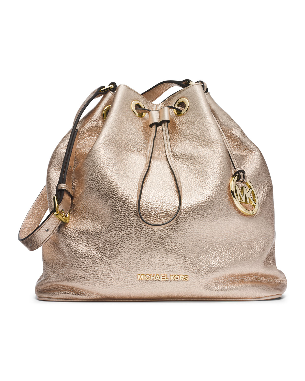 Michael kors Michael Large Jules Drawstring Shoulder Bag in ...