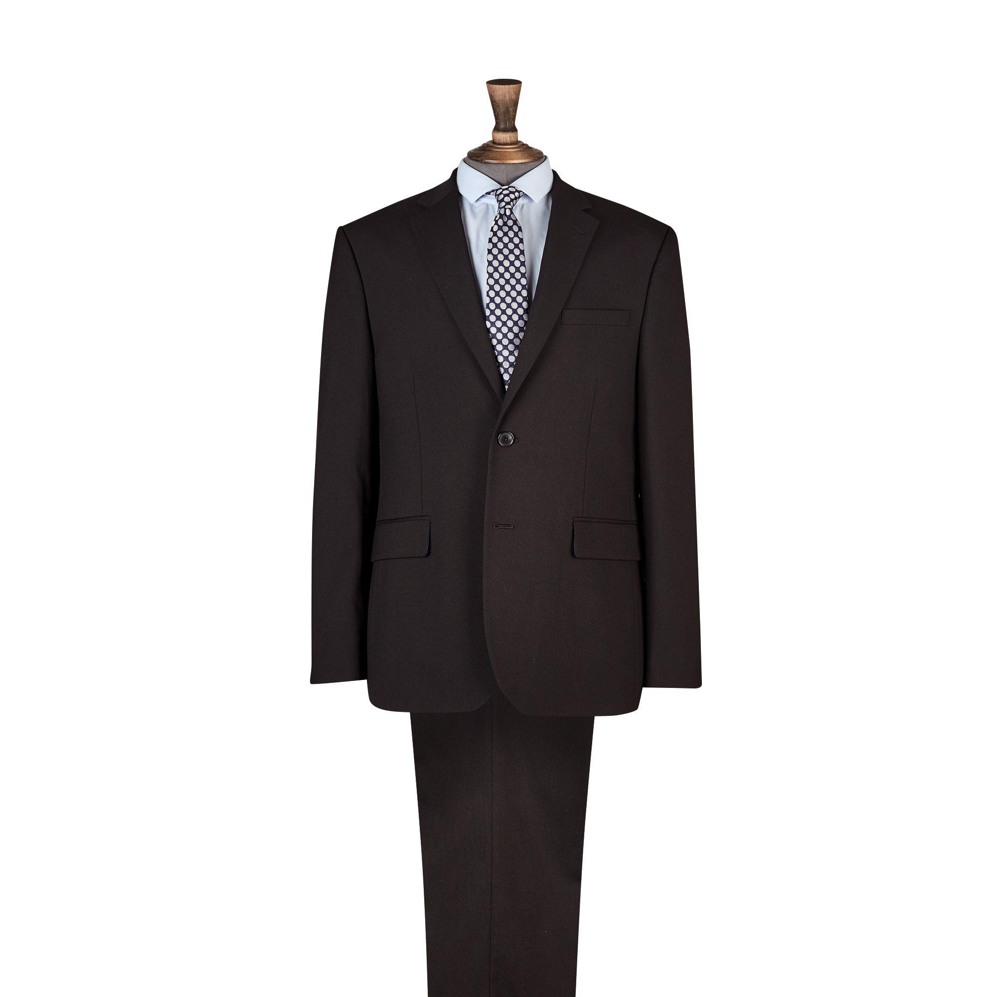 Burton Black Tailored Fit With Stretch Suit Jacket for Men