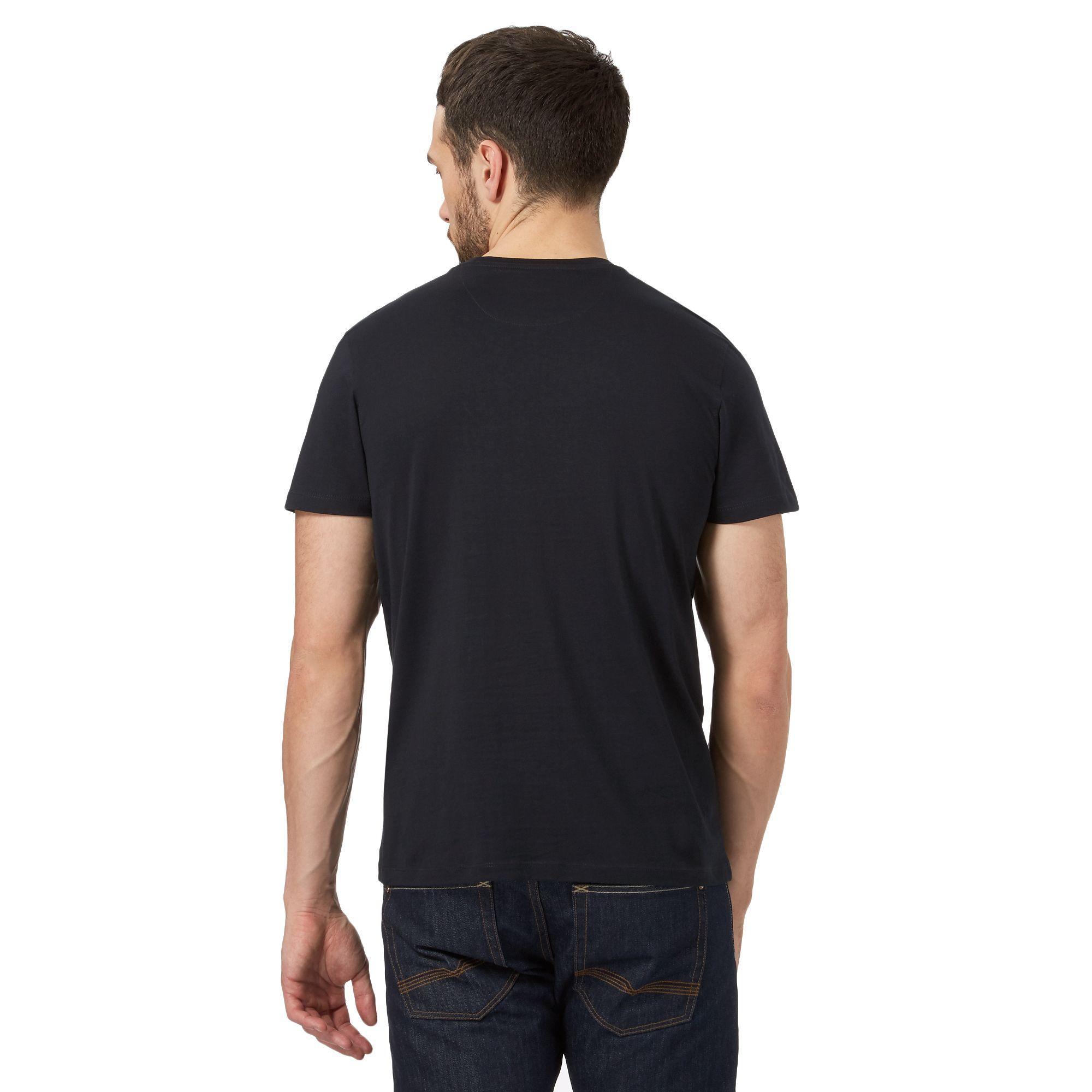 519a67b7 J By Jasper Conran Navy Supima Cotton T-shirt in Blue for Men - Lyst