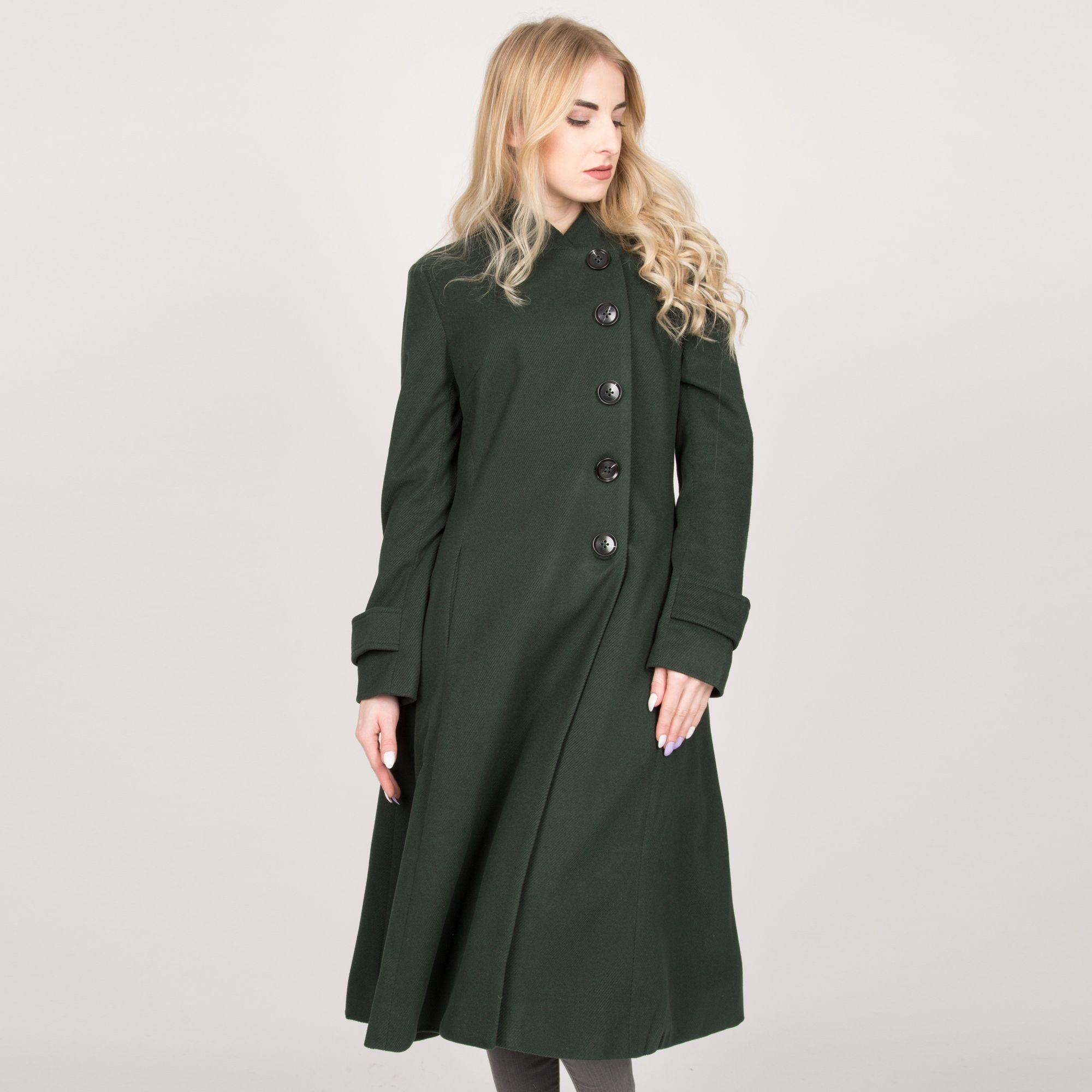 Carters Little Girls Double Breasted A-line Flare Trench