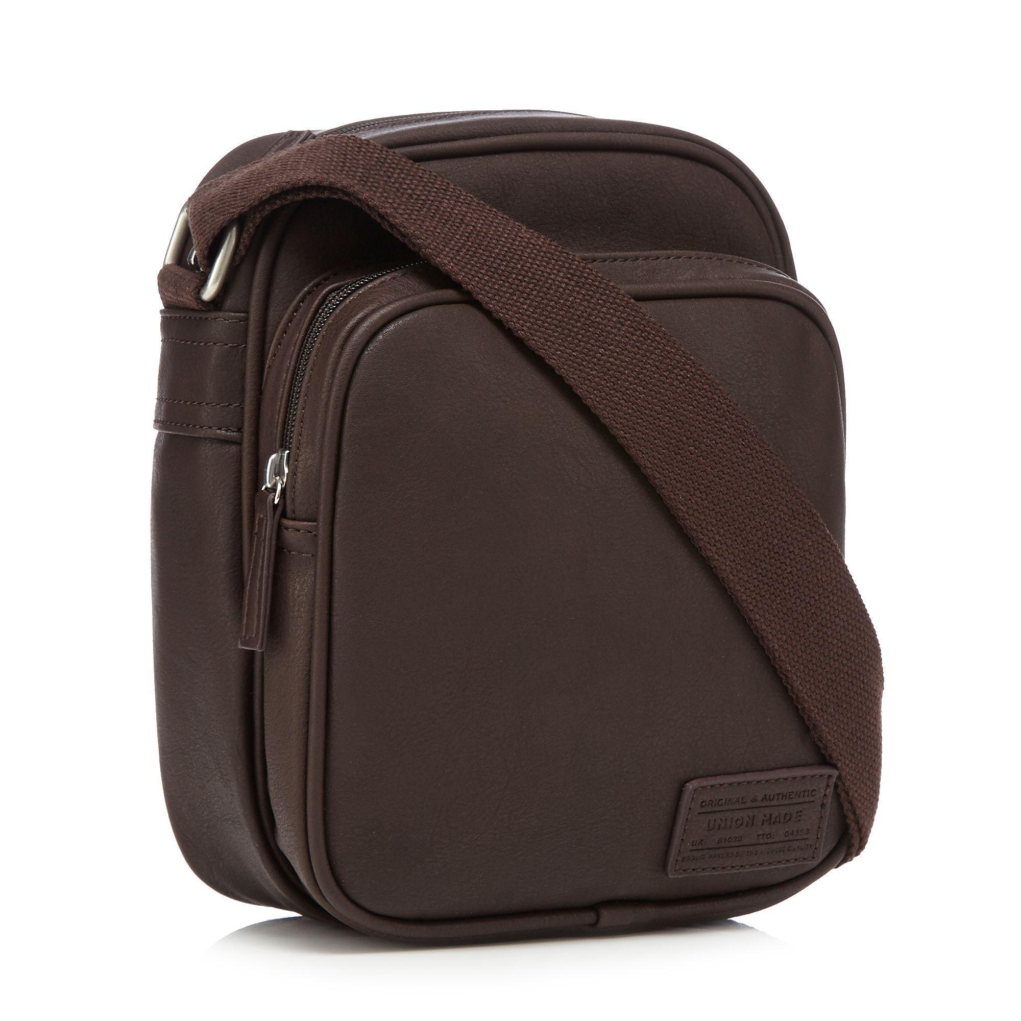 5b50e790aa4e Red Herring - Brown Shoulder Bag for Men - Lyst. View fullscreen