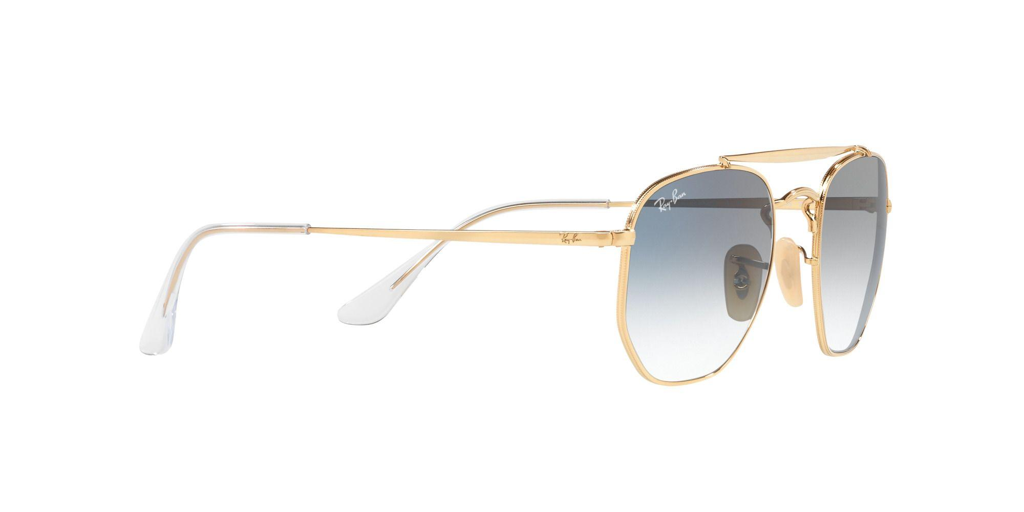 Ray-Ban Gold Rb3648 Square Sunglasses in Metallic for Men