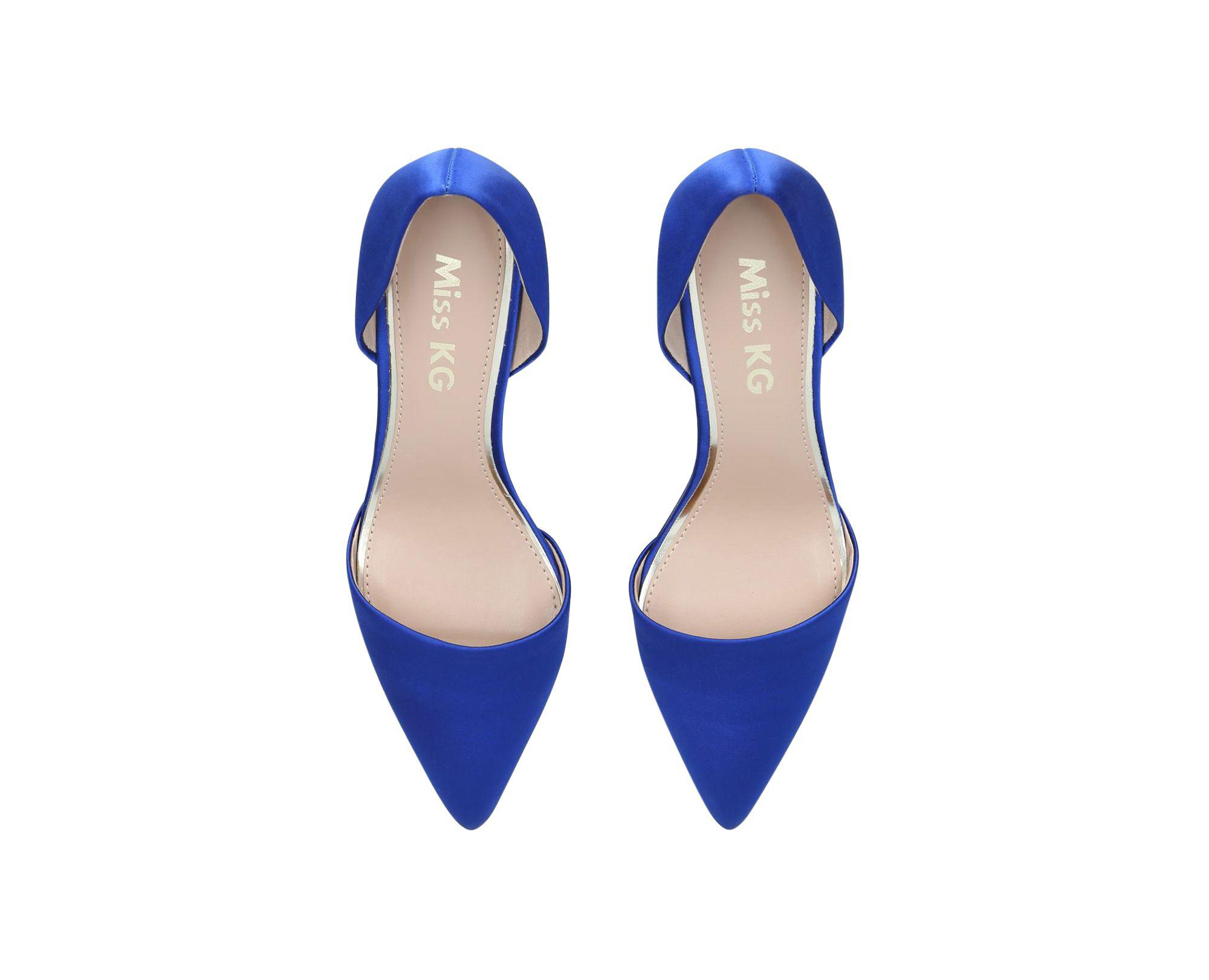 60d1b797e99 Miss Kg - Blue  celina  Court Shoes - Lyst. View fullscreen