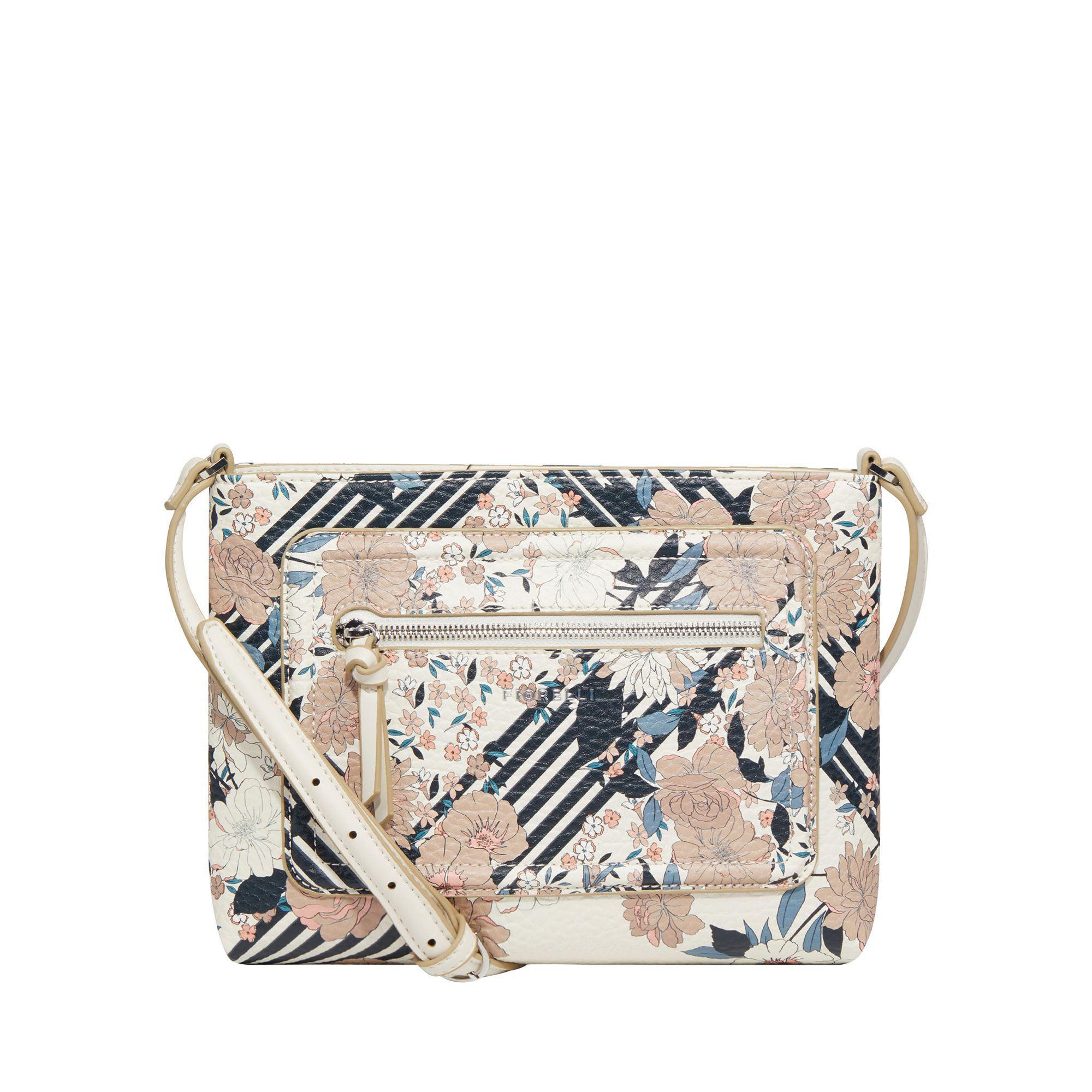 Fiorelli Multi-coloured Floral Print 'bella' Slim Crossbody Bag