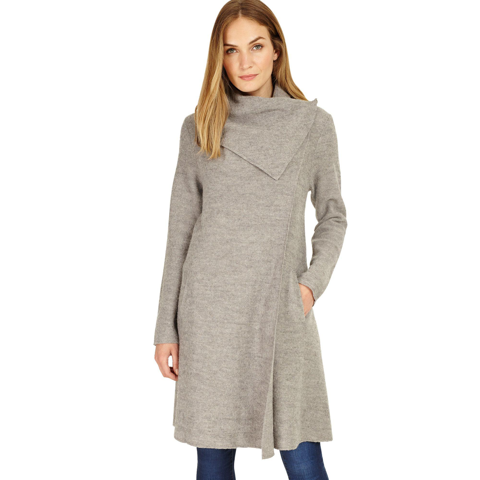 d095992134dc Phase Eight Grey Marl Bellona Waterfall Coat in Gray - Save 27% - Lyst