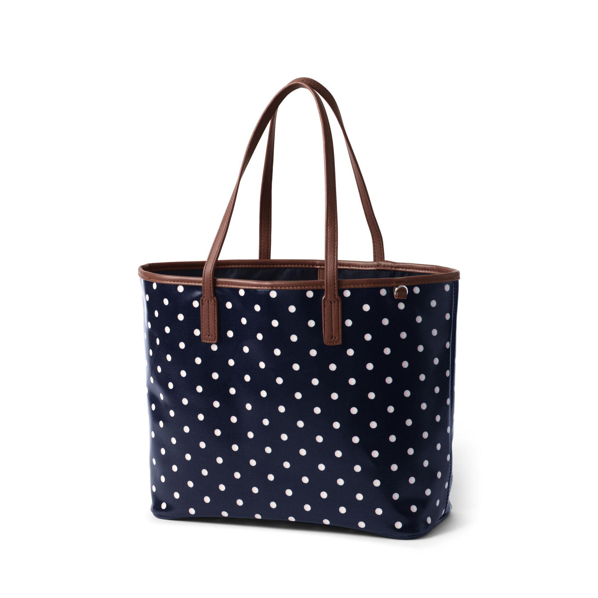 b74dfa3b4 Lands' End Multi Coated Canvas Tote in Blue - Lyst