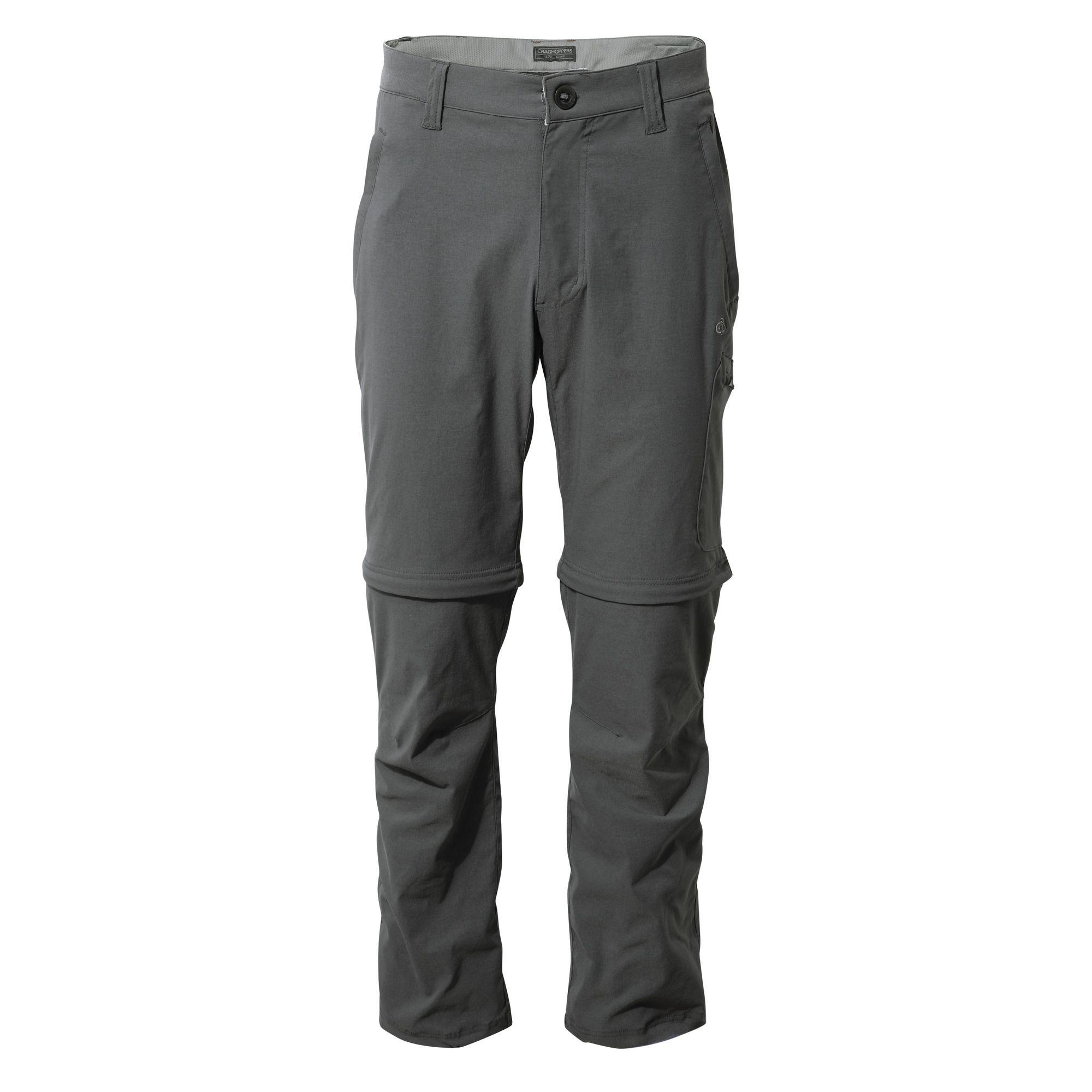 Craghoppers Elephant Nosilife Pro Convertible Trousers in Grey (Grey) for Men