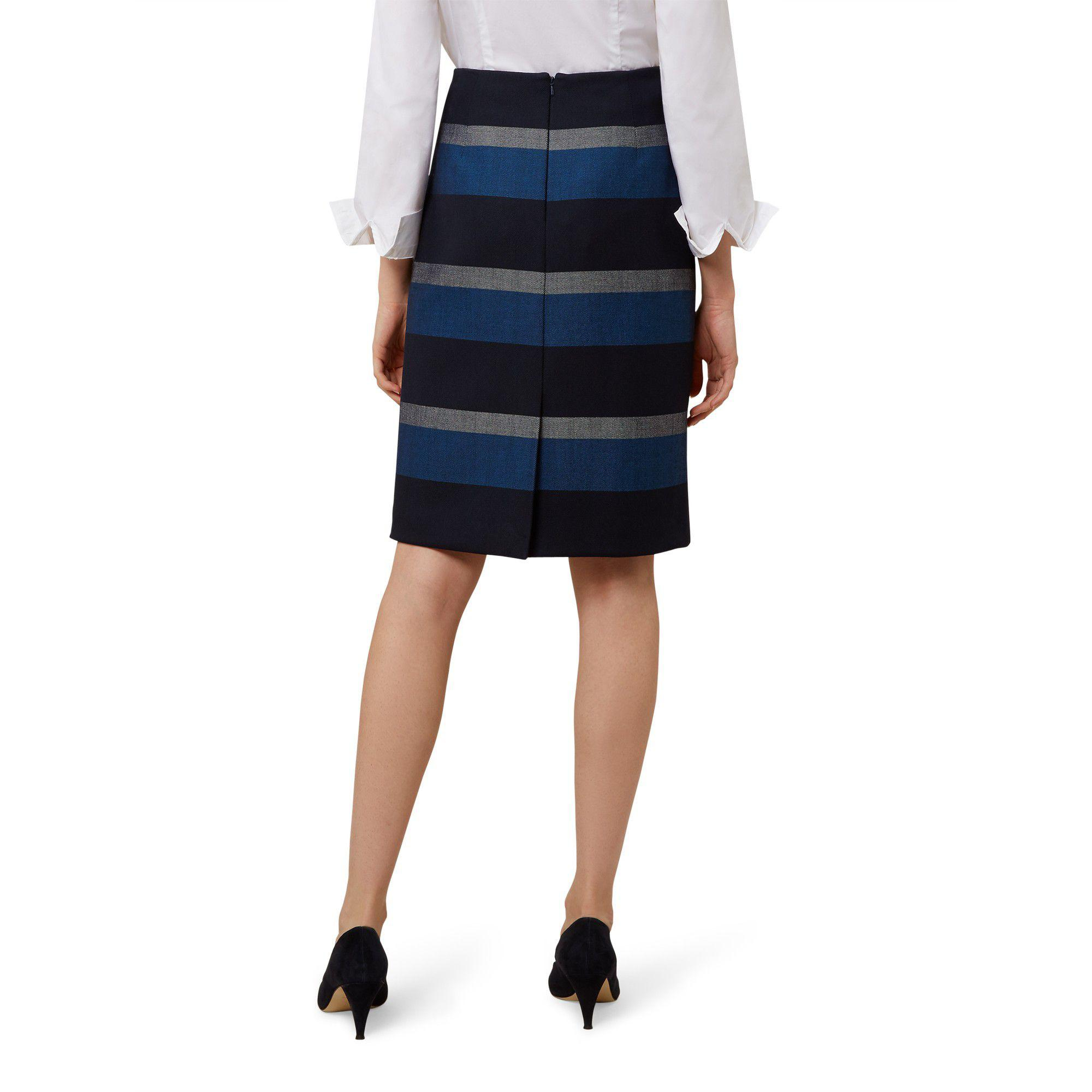 0056924cc Hobbs Blue 'nora' Skirt in Blue - Save 19% - Lyst