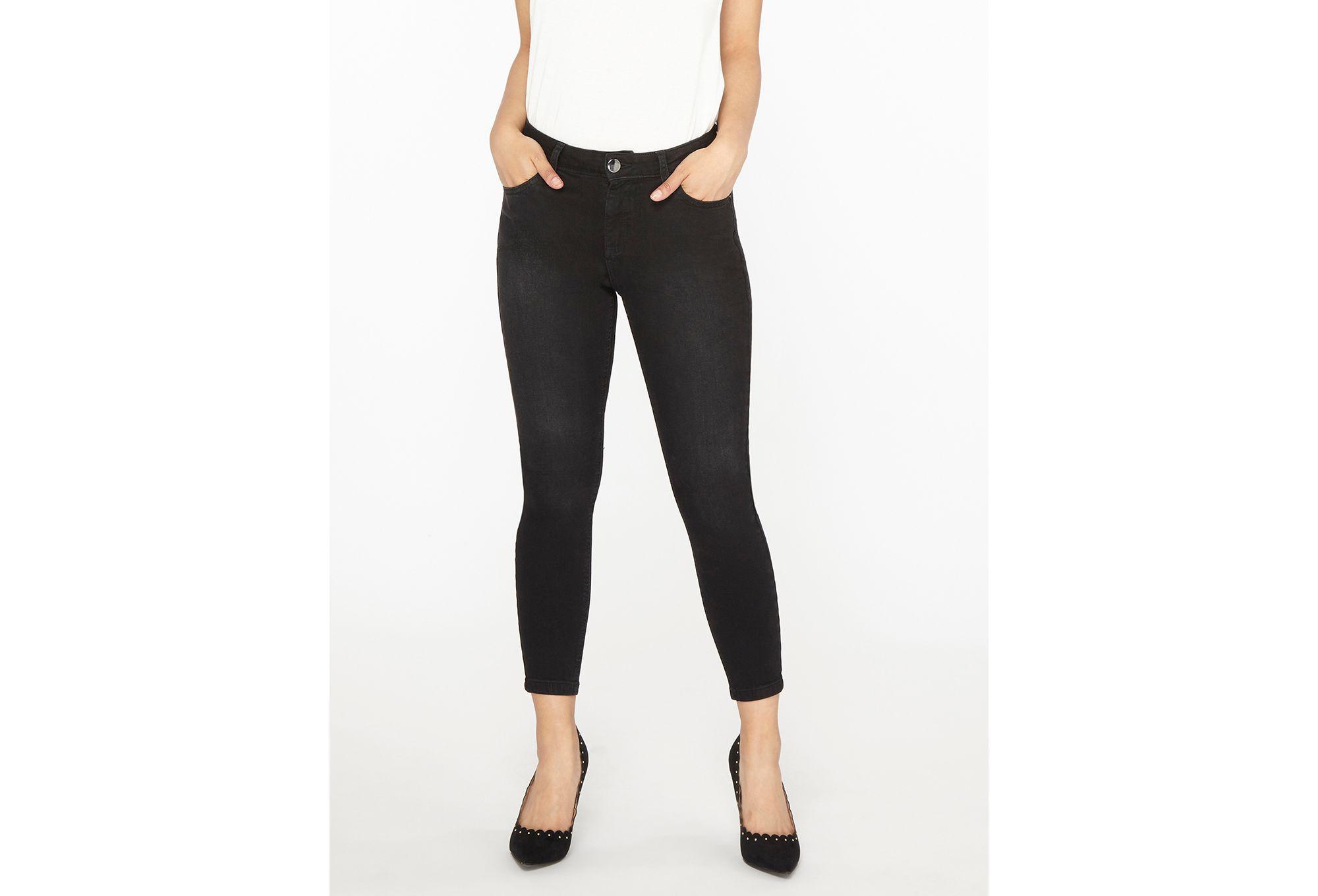 Dorothy Perkins Denim Petite Black Jeans