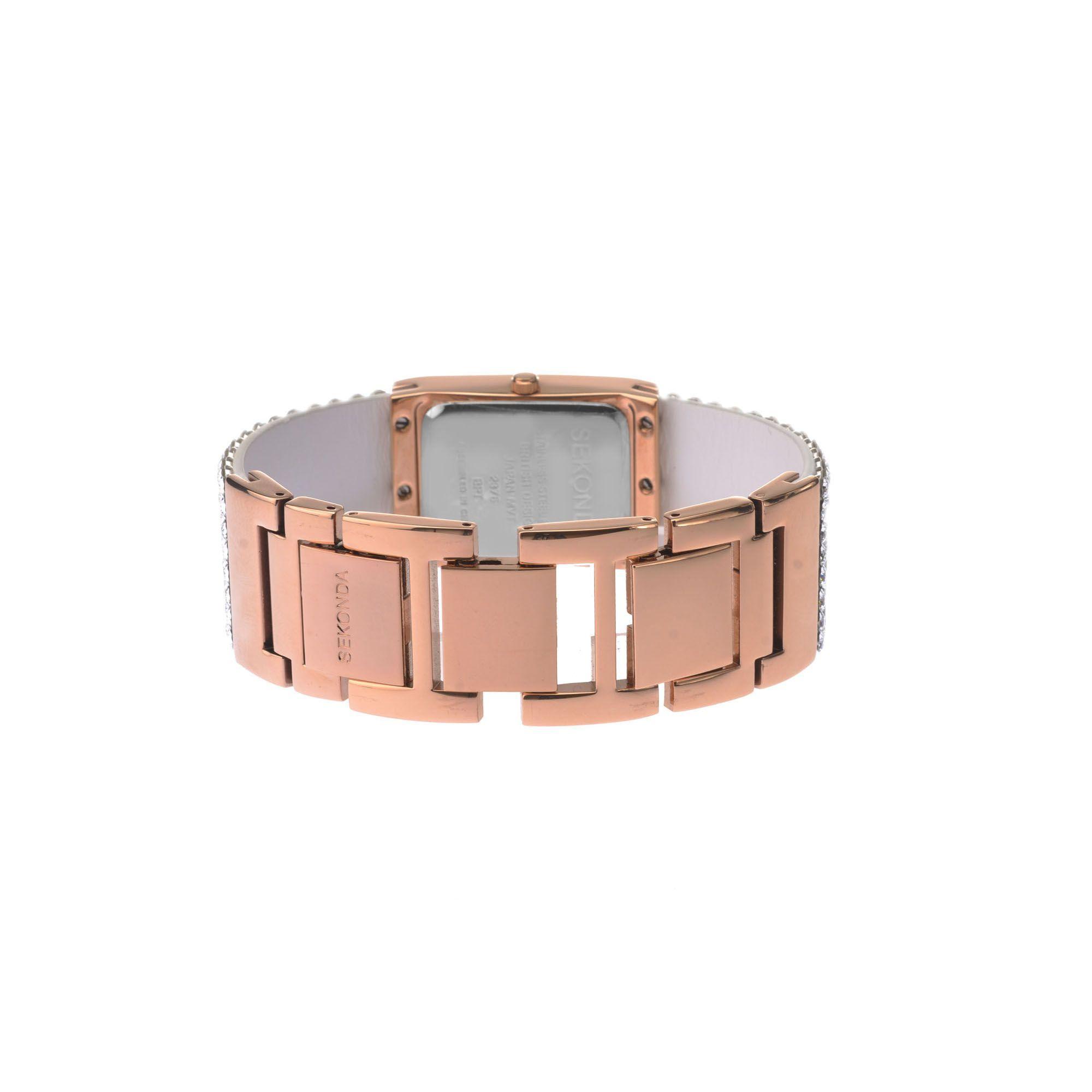7333ff0f65197 Sekonda Ladies White And Analogue Swarovski Crystal Fashion Bracelet ...