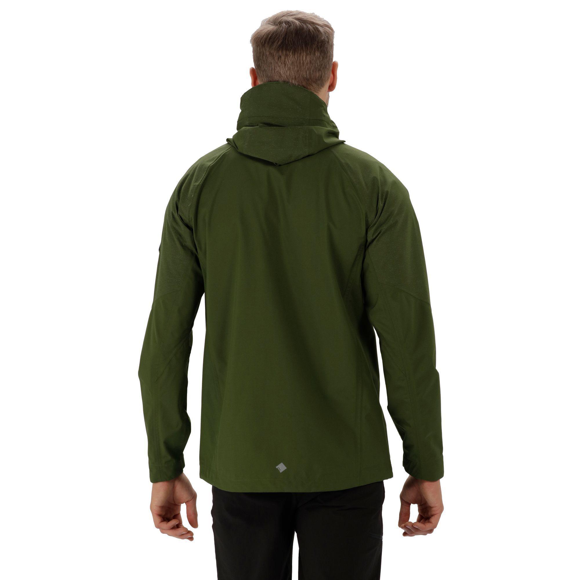 Regatta Synthetic Green 'montegra' Waterproof Jacket for Men