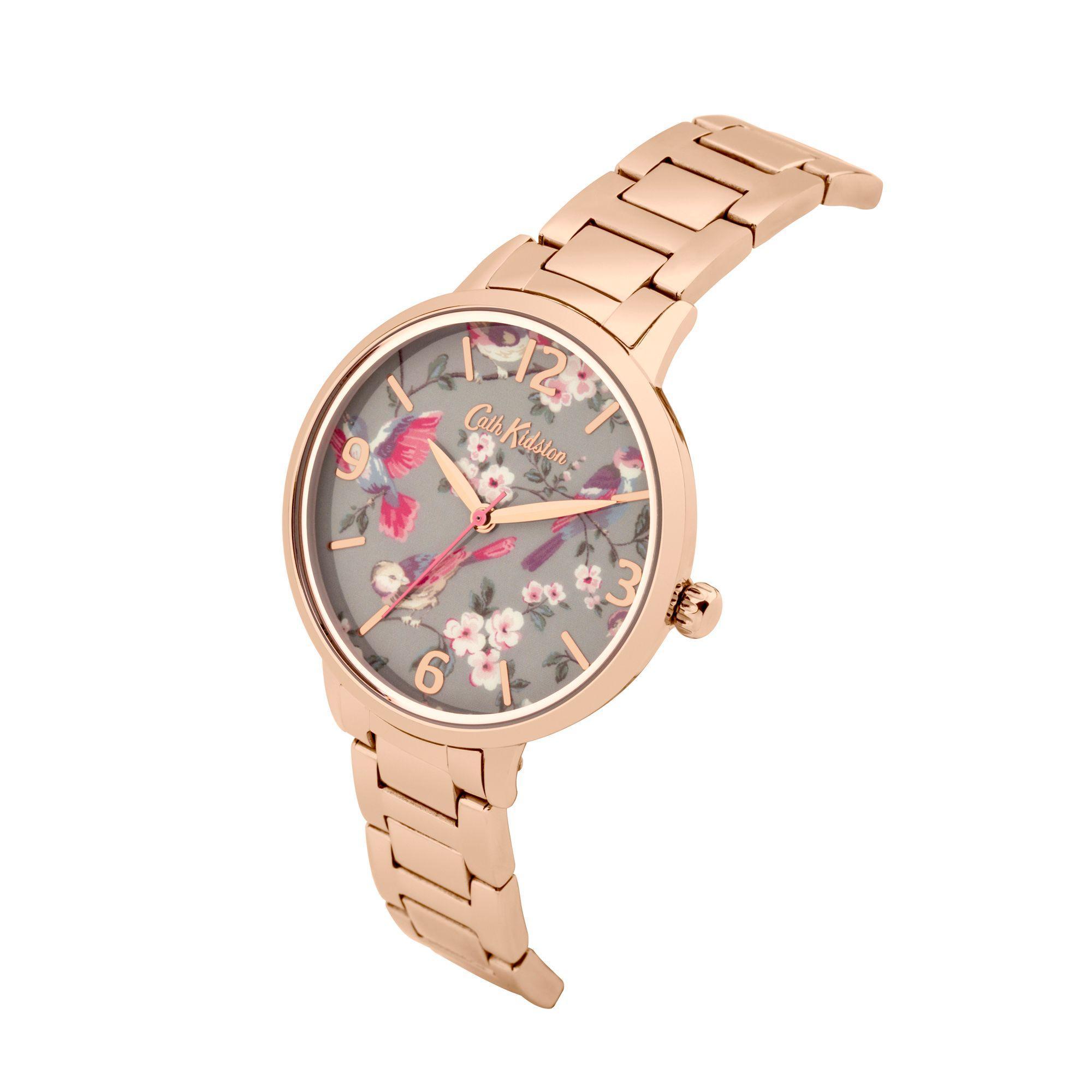 172ab57e9e044 Cath Kidston Pink Ladies Rose Gold Bracelet Watch Ckl001rgm