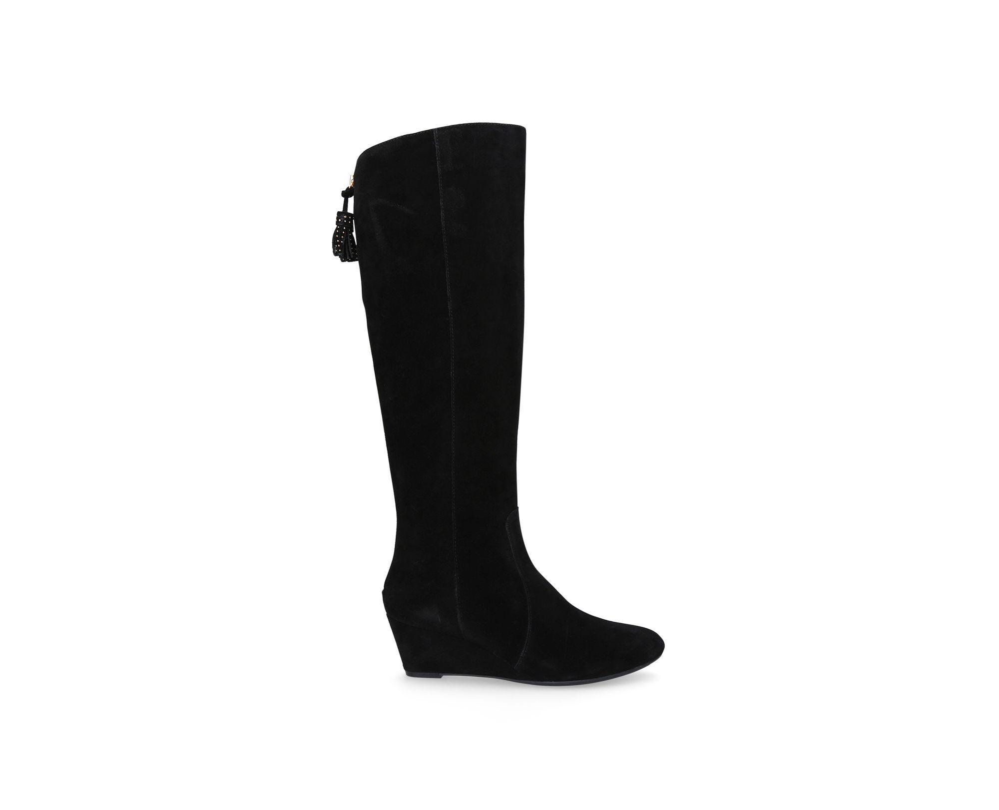 Anne Klein 'azriel' Mid Heel Boots in Black