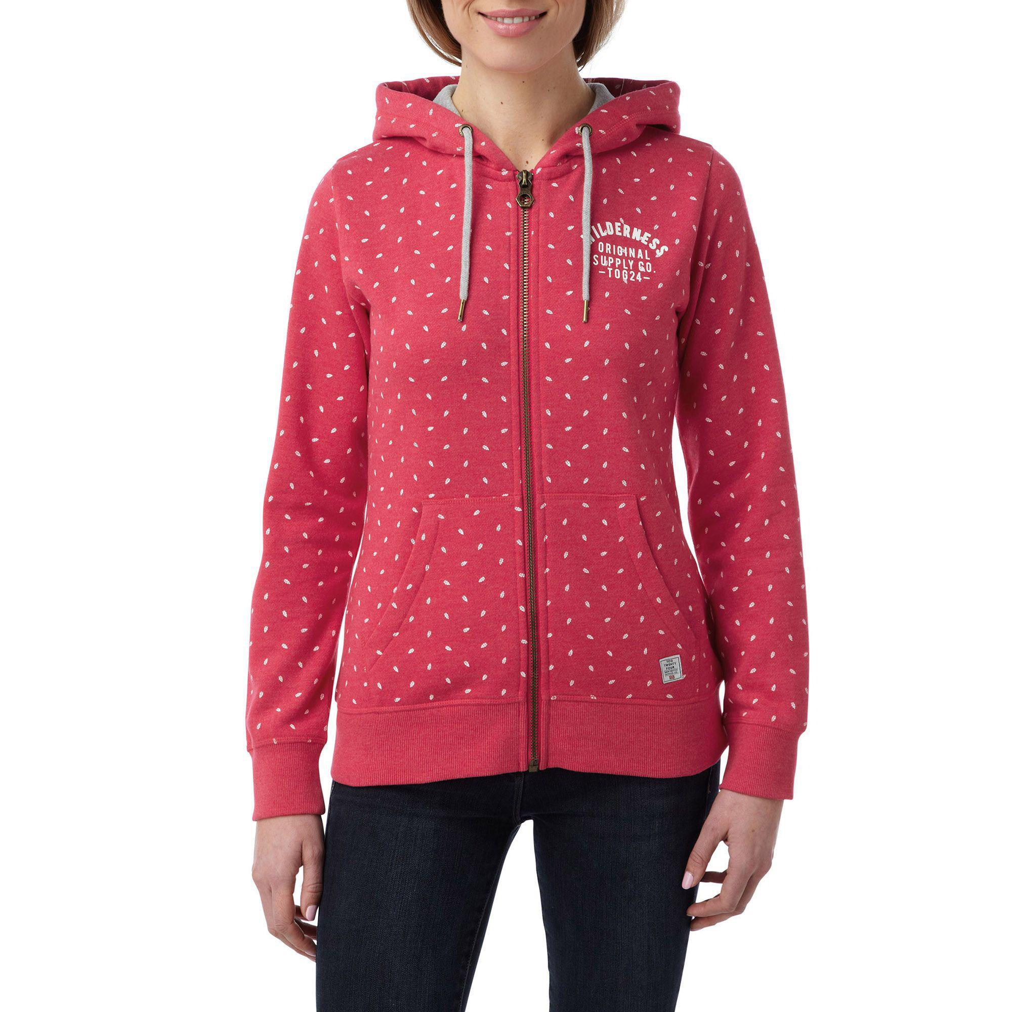 fe3910093 Tog 24 Rose Marl Ava Deluxe Zip Hoodie Wilderness in Pink - Lyst