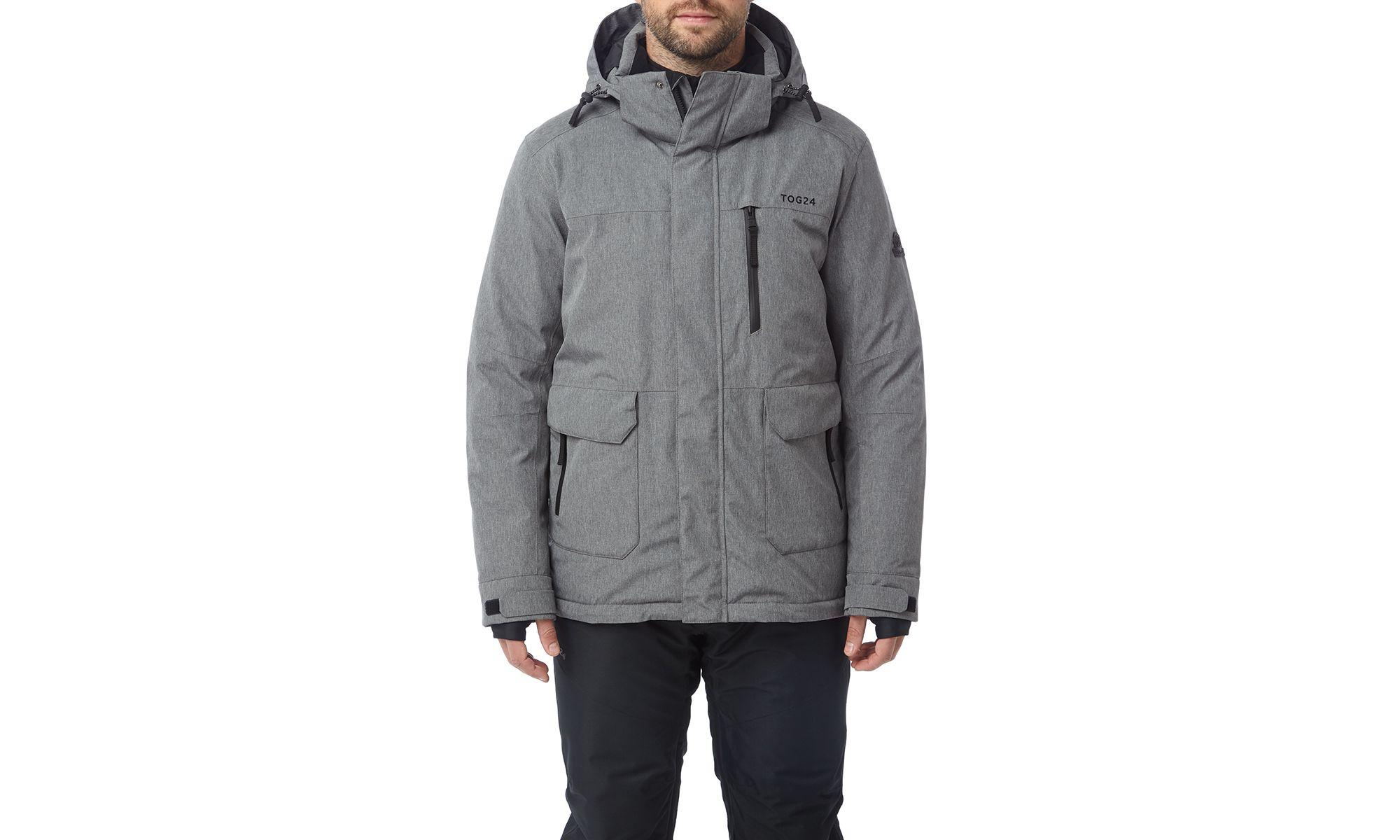 ... Grey Marl Vertigo Mens Waterproof Insulated Ski Jacket for Men - Lyst.  View fullscreen 1ecb74760