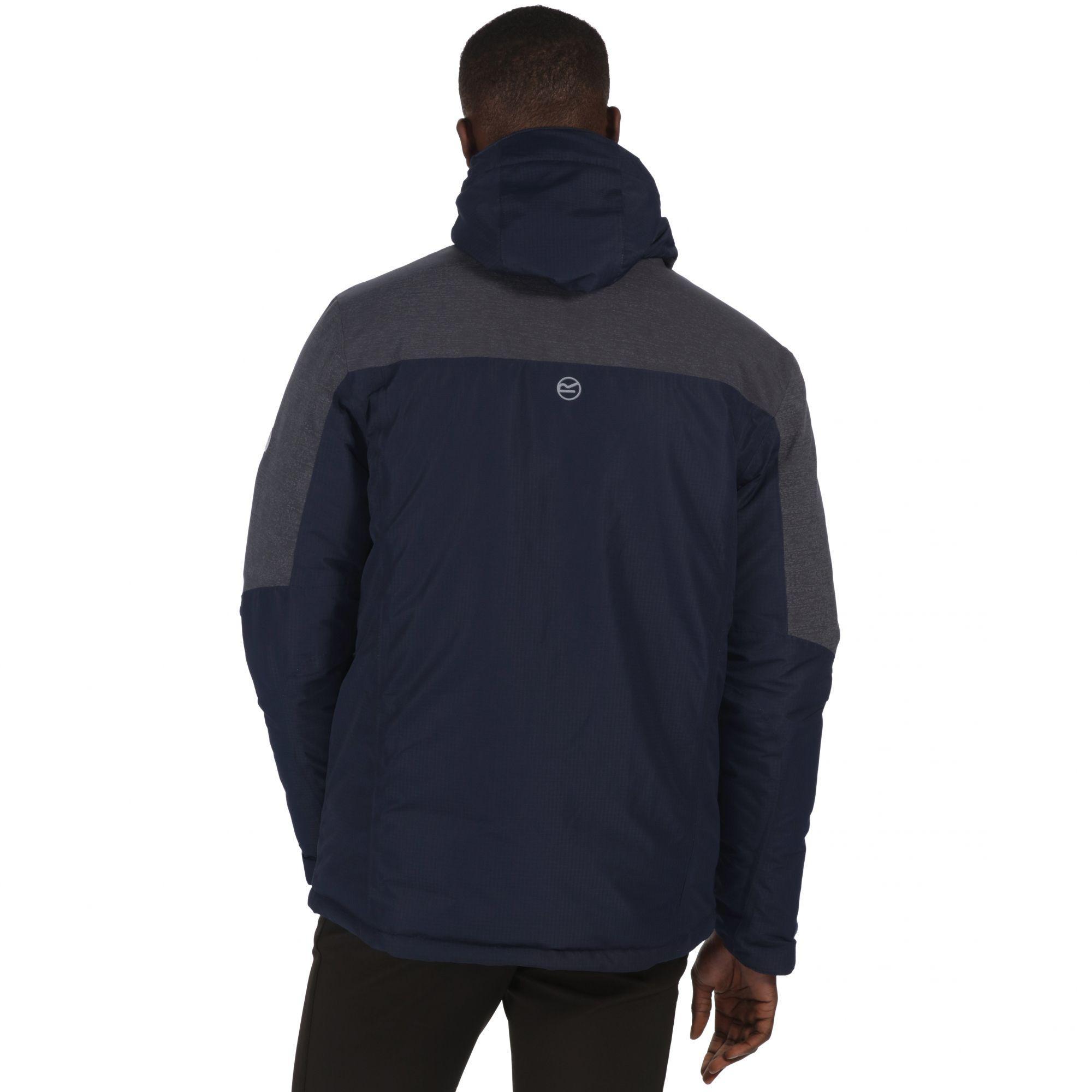 Regatta Blue 'garforth' Waterproof Insulated Jacket for Men